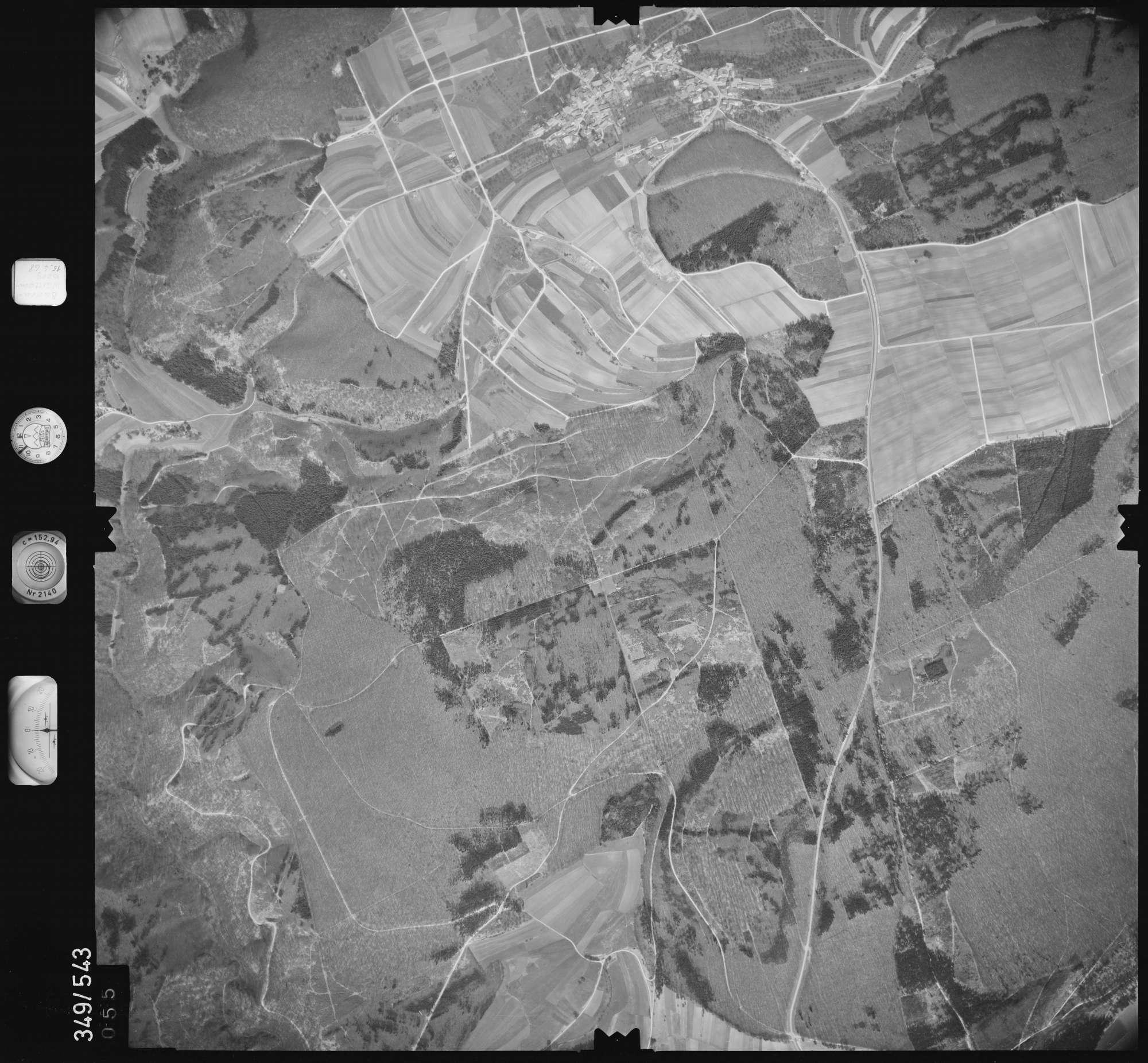 Luftbild: Film 45 Bildnr. 55, Bild 1