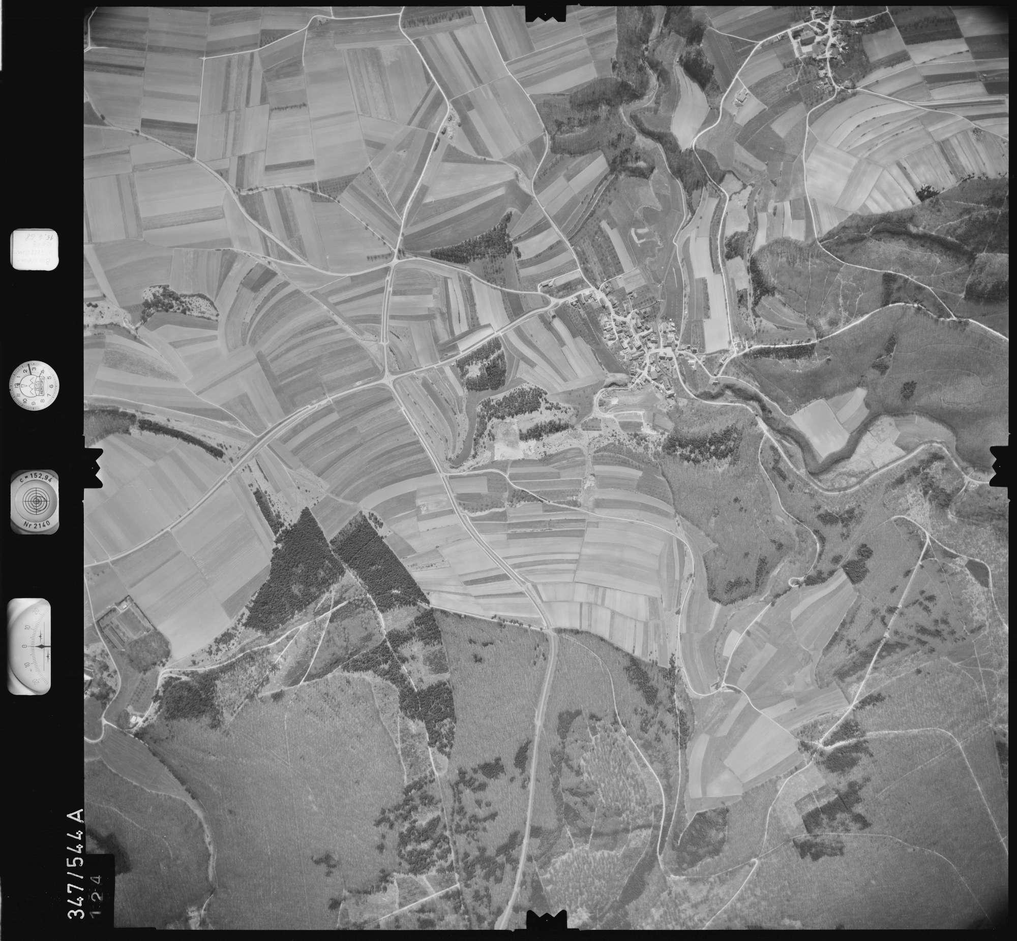 Luftbild: Film 45 Bildnr. 124, Bild 1
