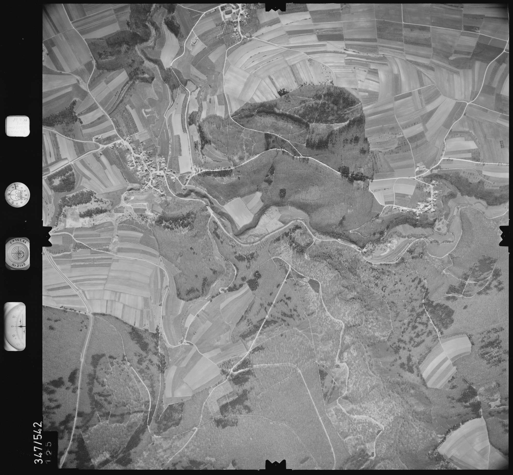 Luftbild: Film 45 Bildnr. 125, Bild 1