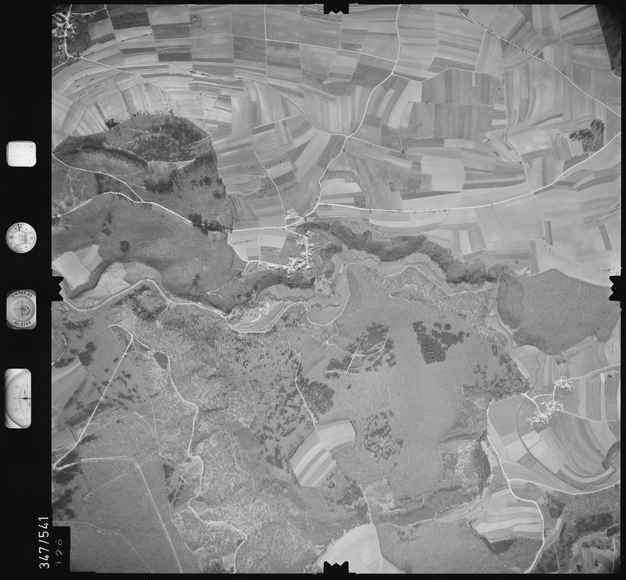 Luftbild: Film 45 Bildnr. 126, Bild 1