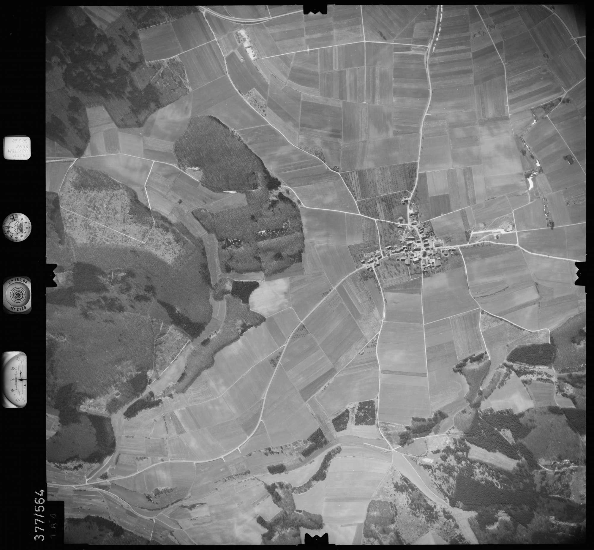 Luftbild: Film 27 Bildnr. 184, Bild 1