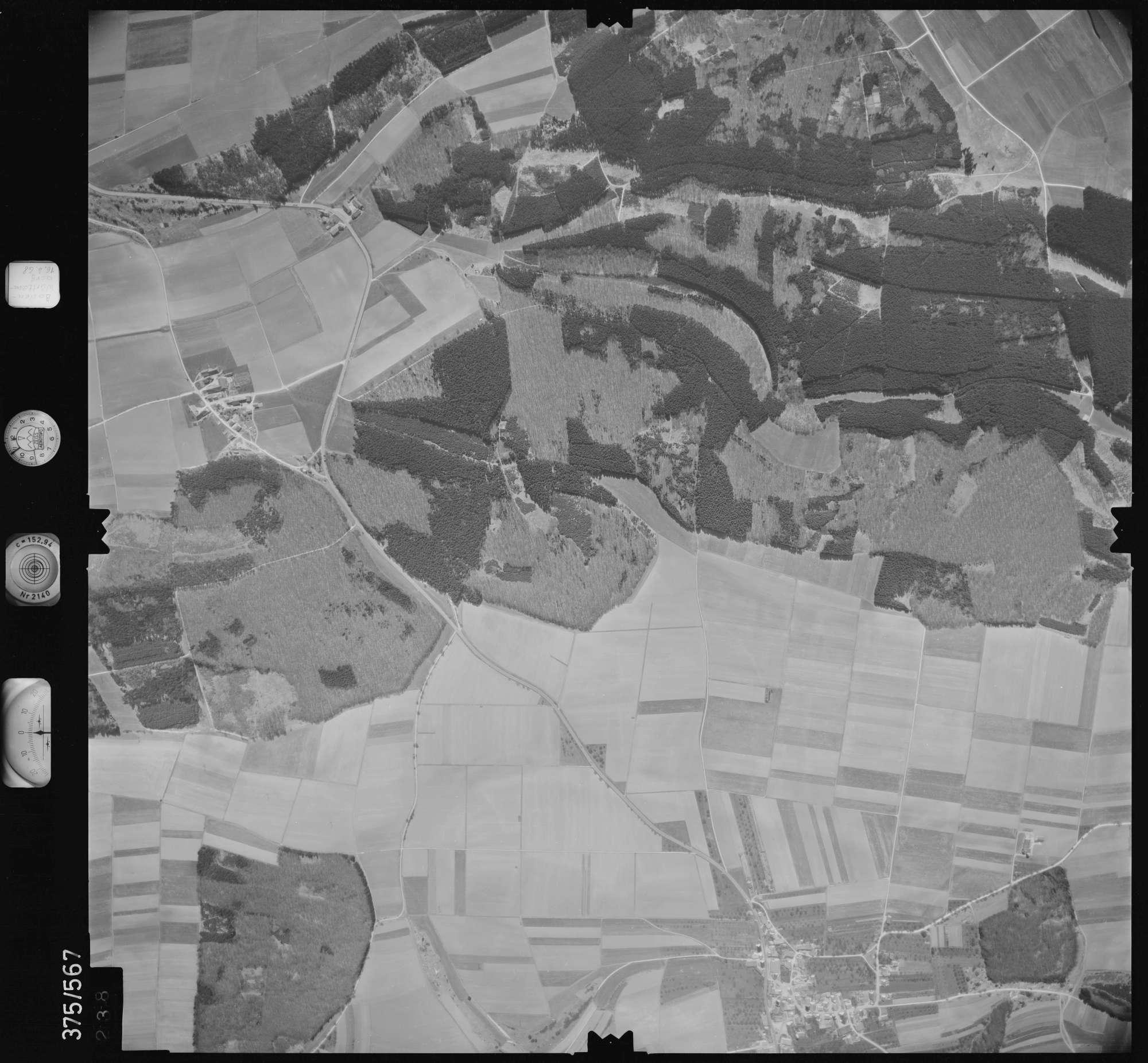 Luftbild: Film 32 Bildnr. 238, Bild 1