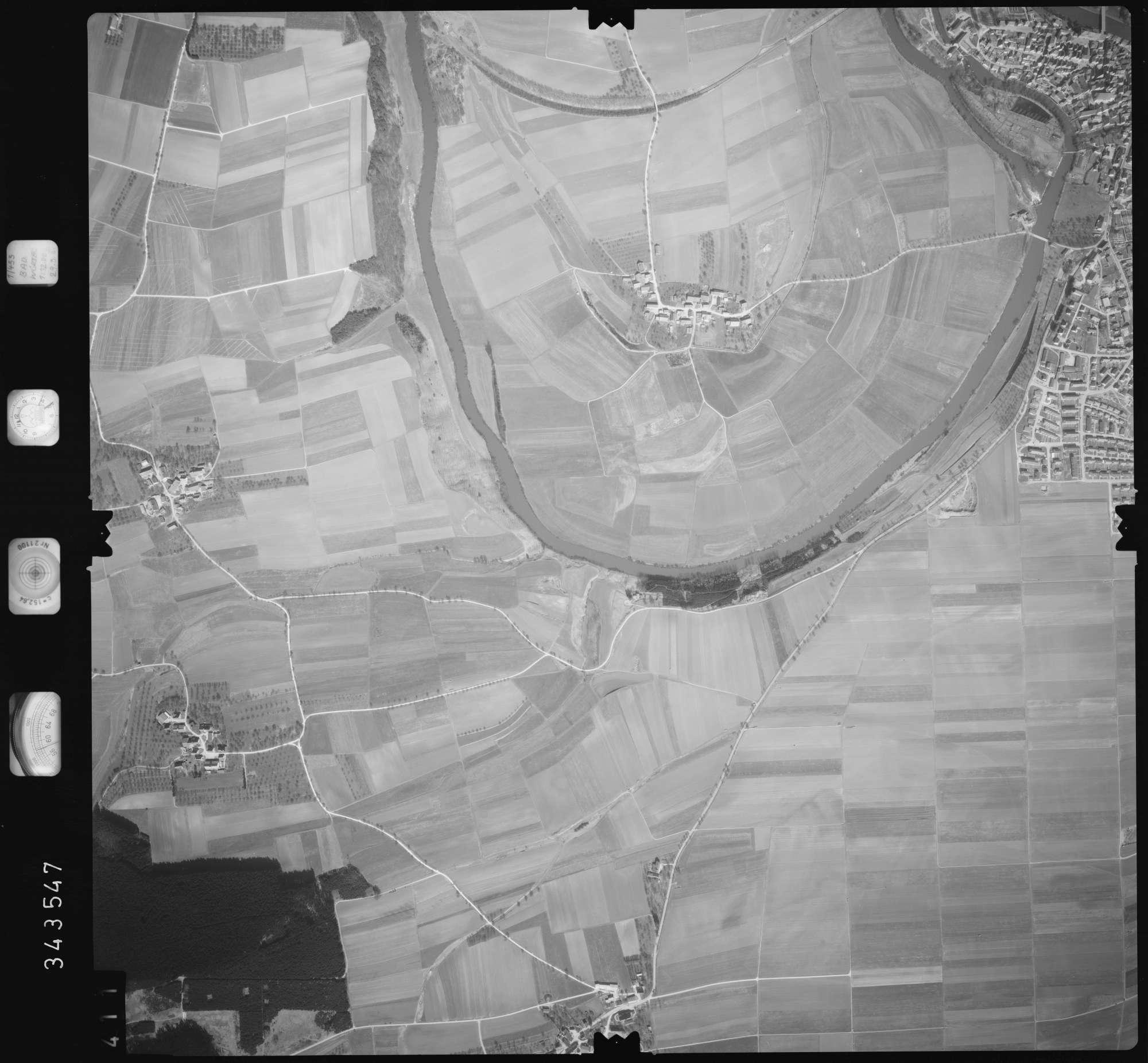 Luftbild: Film 46 Bildnr. 411, Bild 1