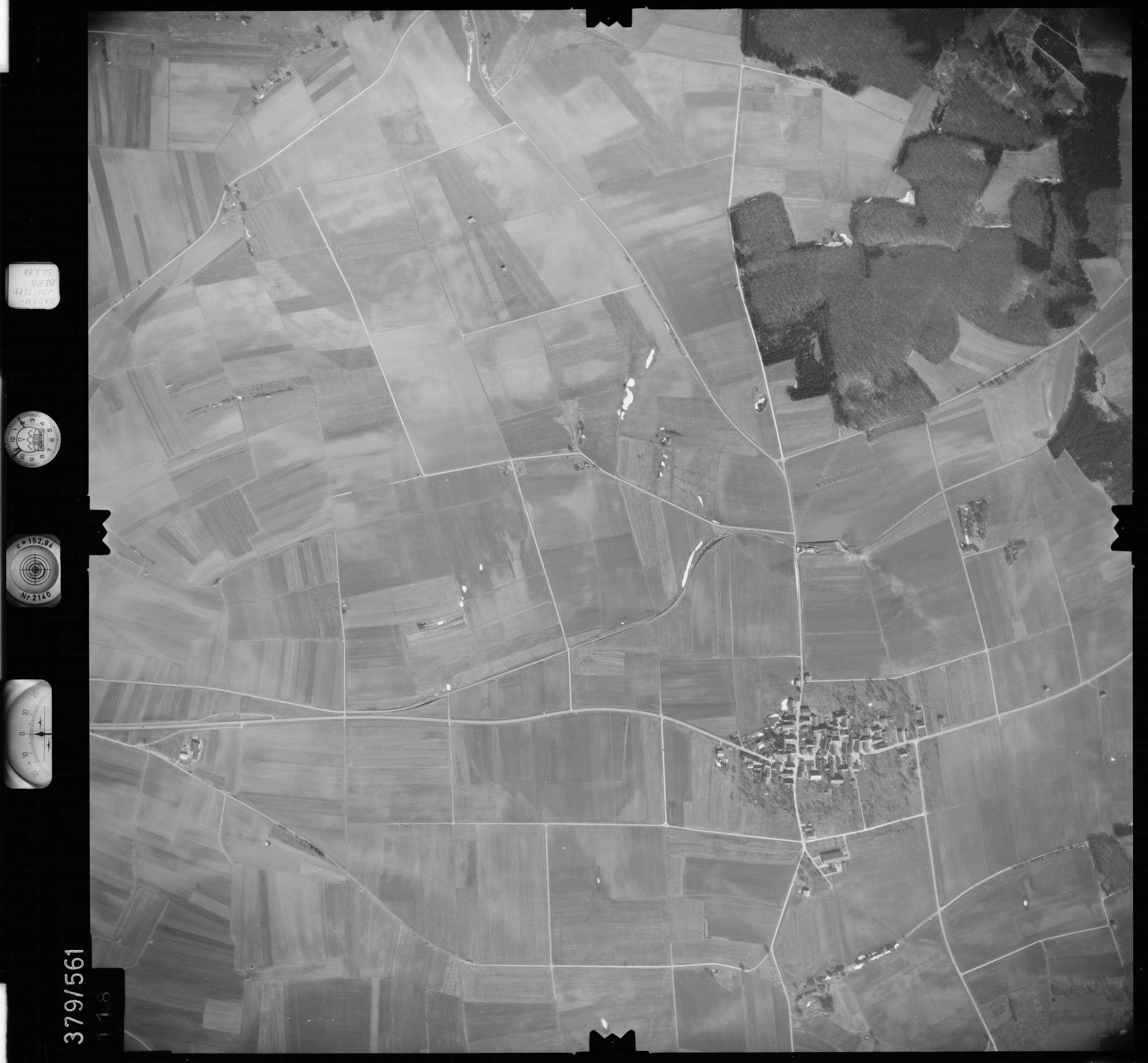 Luftbild: Film 27 Bildnr. 118, Bild 1