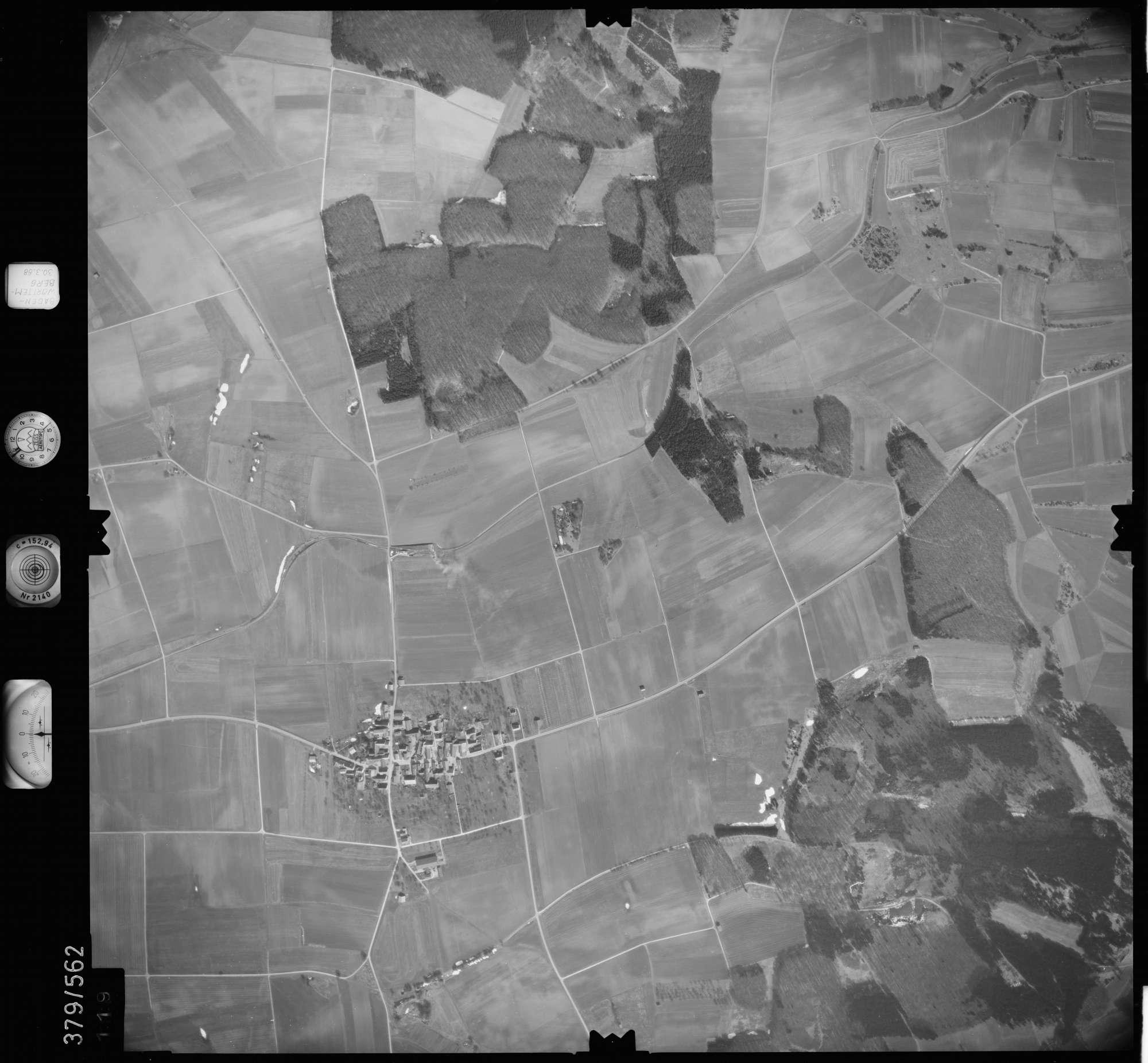 Luftbild: Film 27 Bildnr. 119, Bild 1