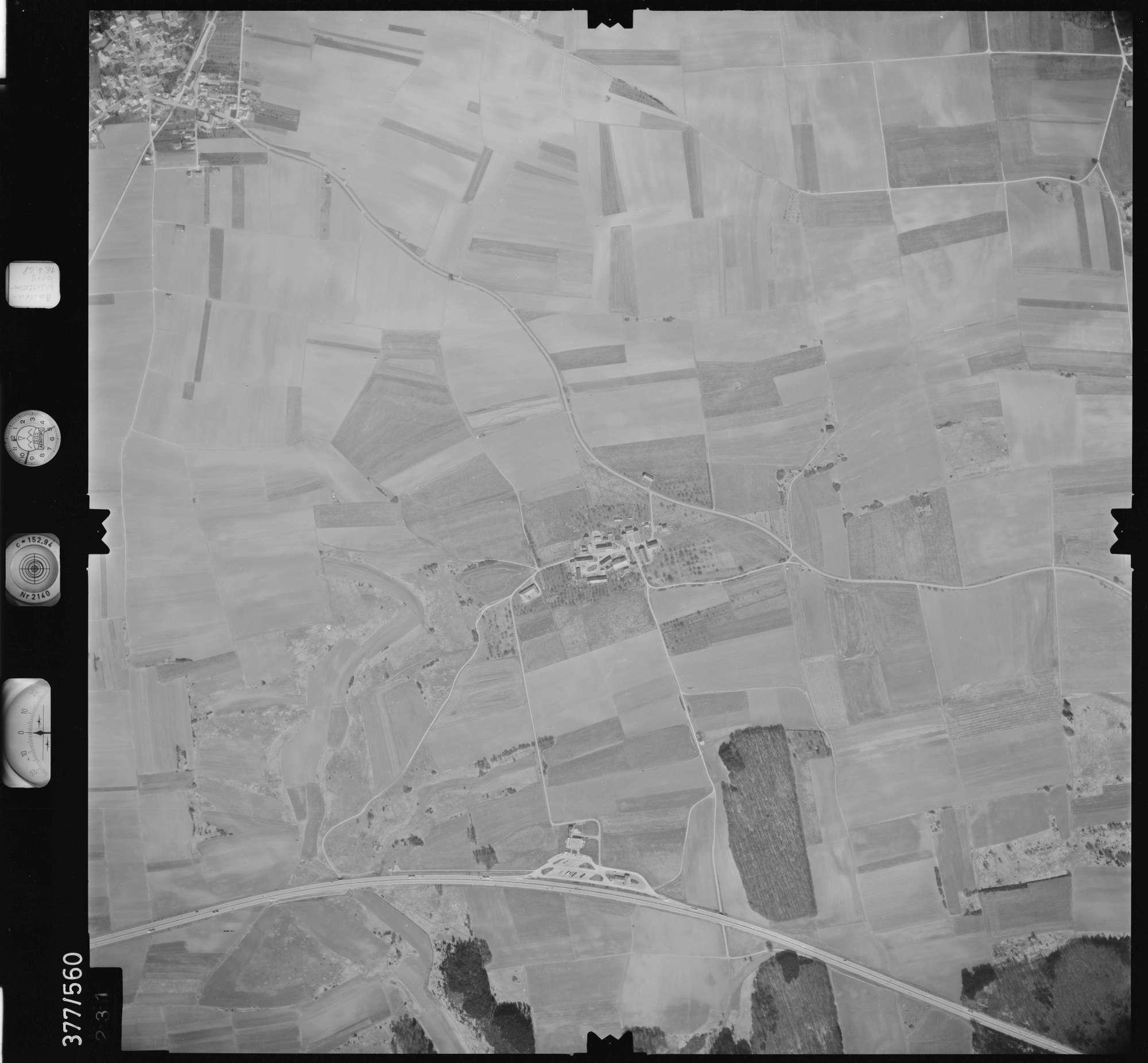 Luftbild: Film 32 Bildnr. 231, Bild 1