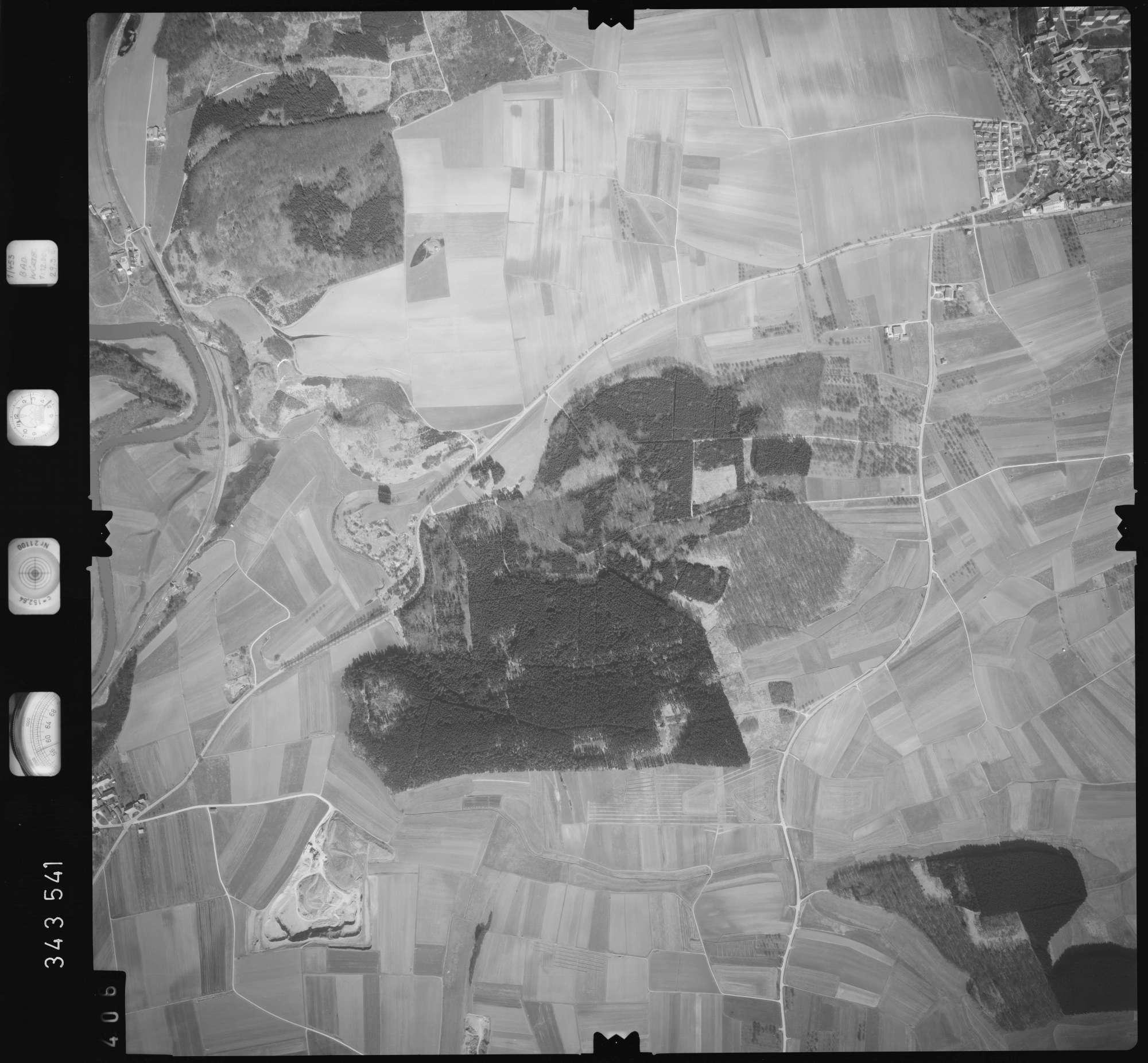 Luftbild: Film 46 Bildnr. 406, Bild 1