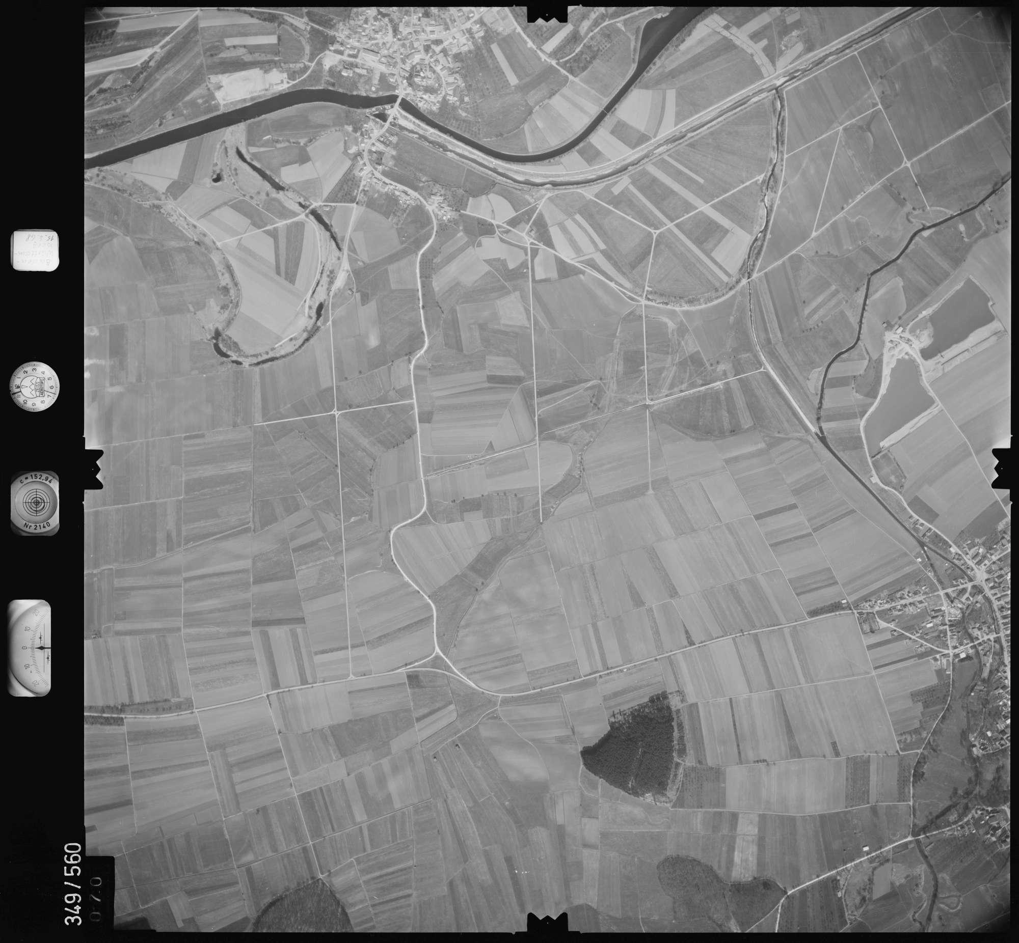 Luftbild: Film 45 Bildnr. 70, Bild 1