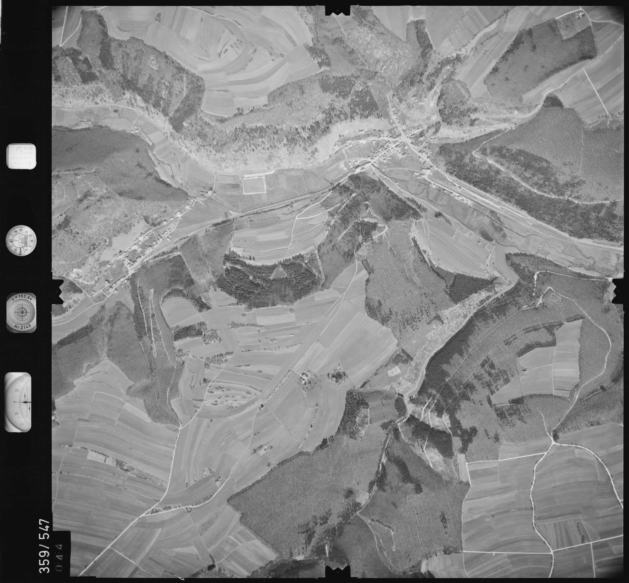 Luftbild: Film 38 Bildnr. 44, Bild 1