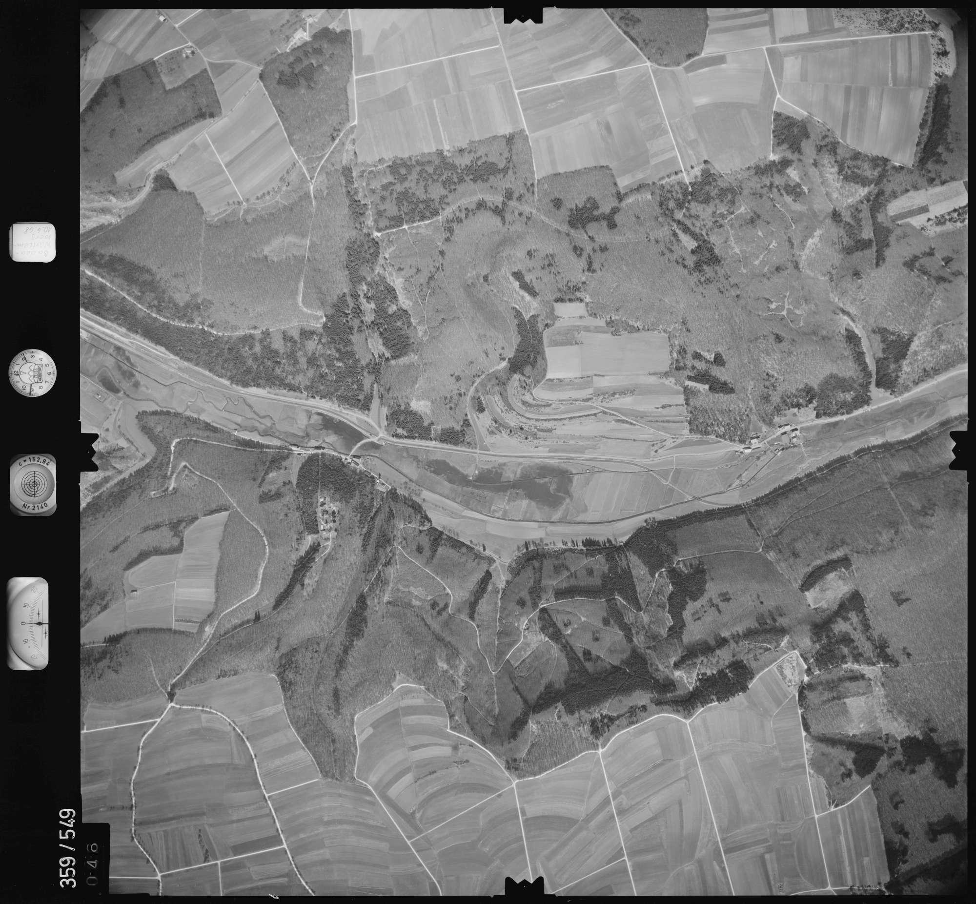 Luftbild: Film 38 Bildnr. 46, Bild 1