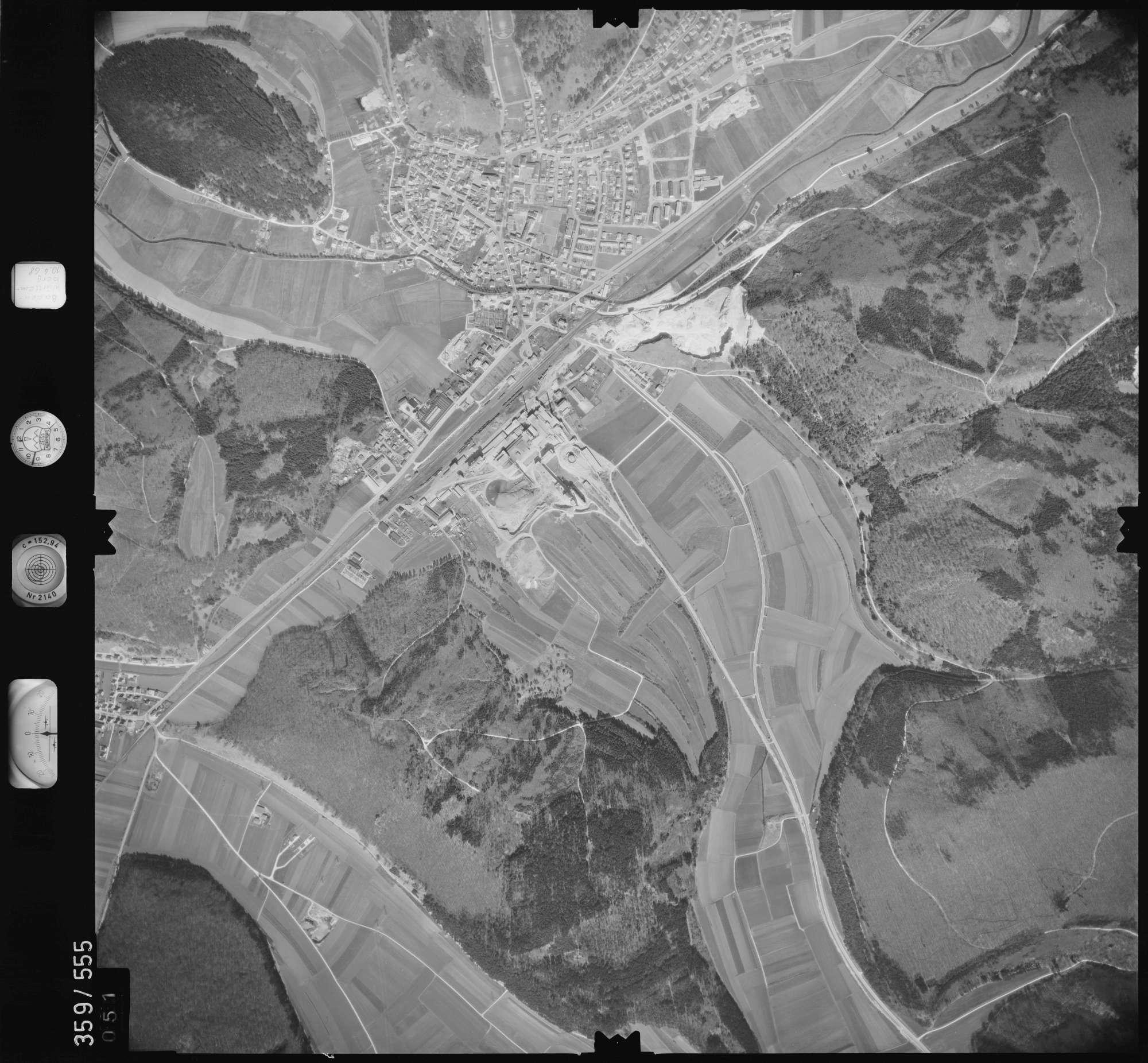 Luftbild: Film 38 Bildnr. 51, Bild 1
