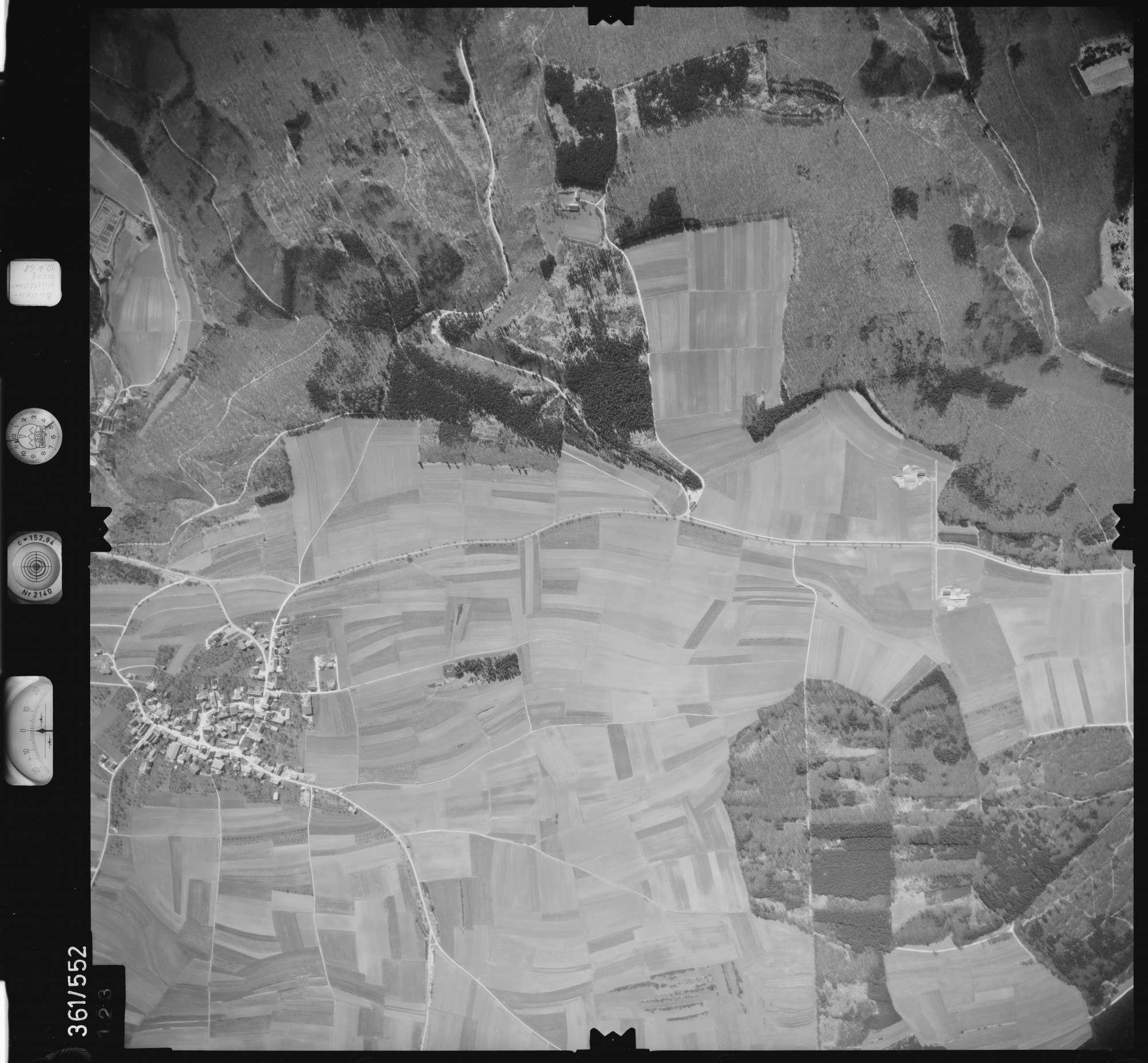 Luftbild: Film 40 Bildnr. 123, Bild 1