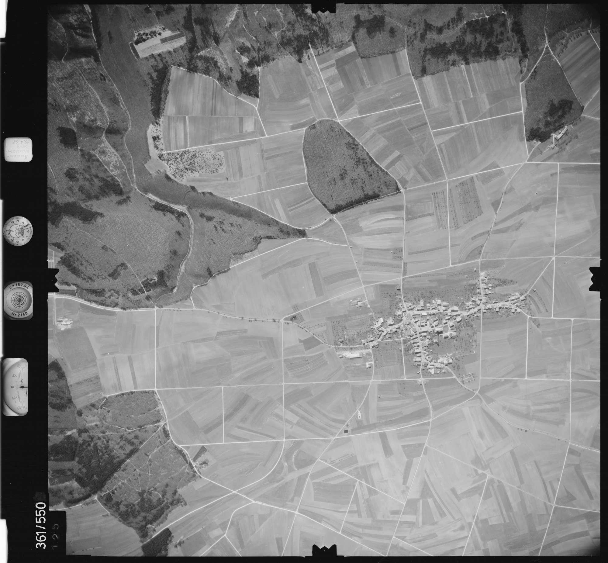 Luftbild: Film 40 Bildnr. 125, Bild 1