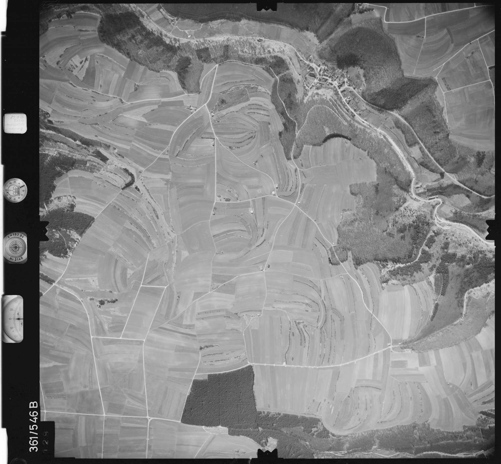 Luftbild: Film 40 Bildnr. 129, Bild 1