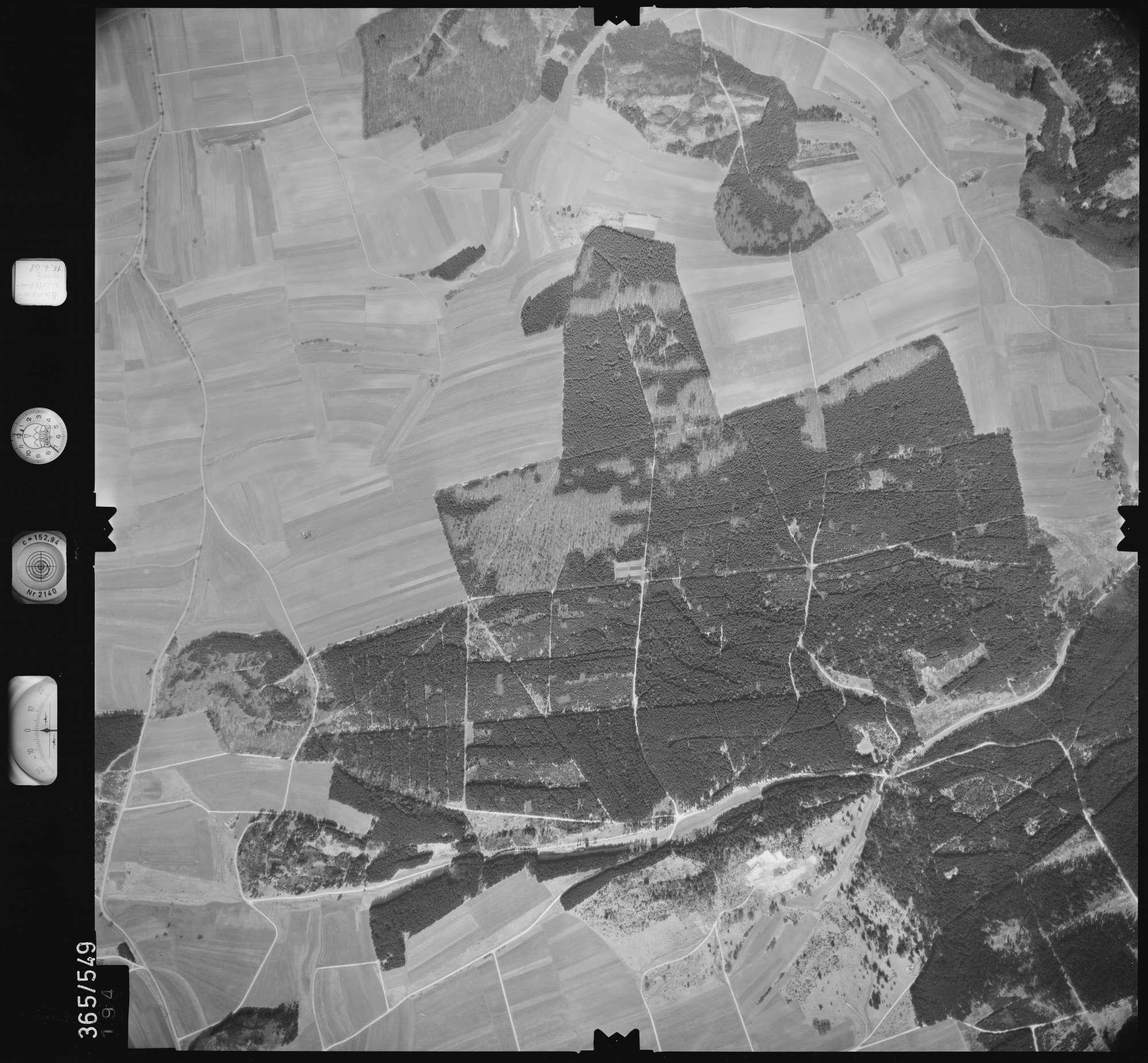 Luftbild: Film 45 Bildnr. 194, Bild 1