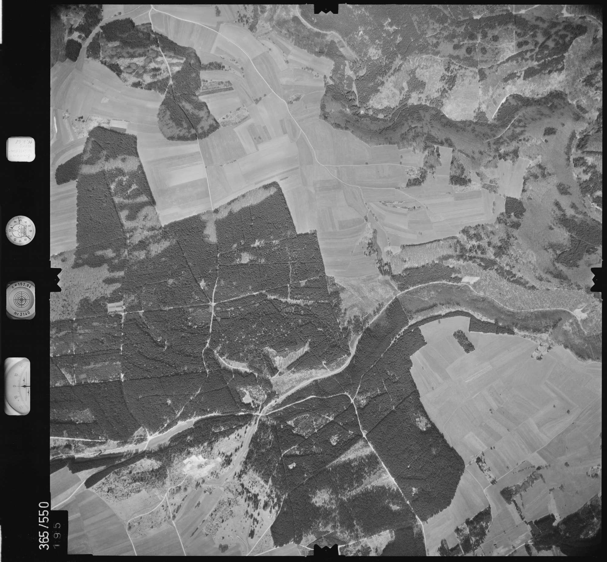 Luftbild: Film 45 Bildnr. 195, Bild 1
