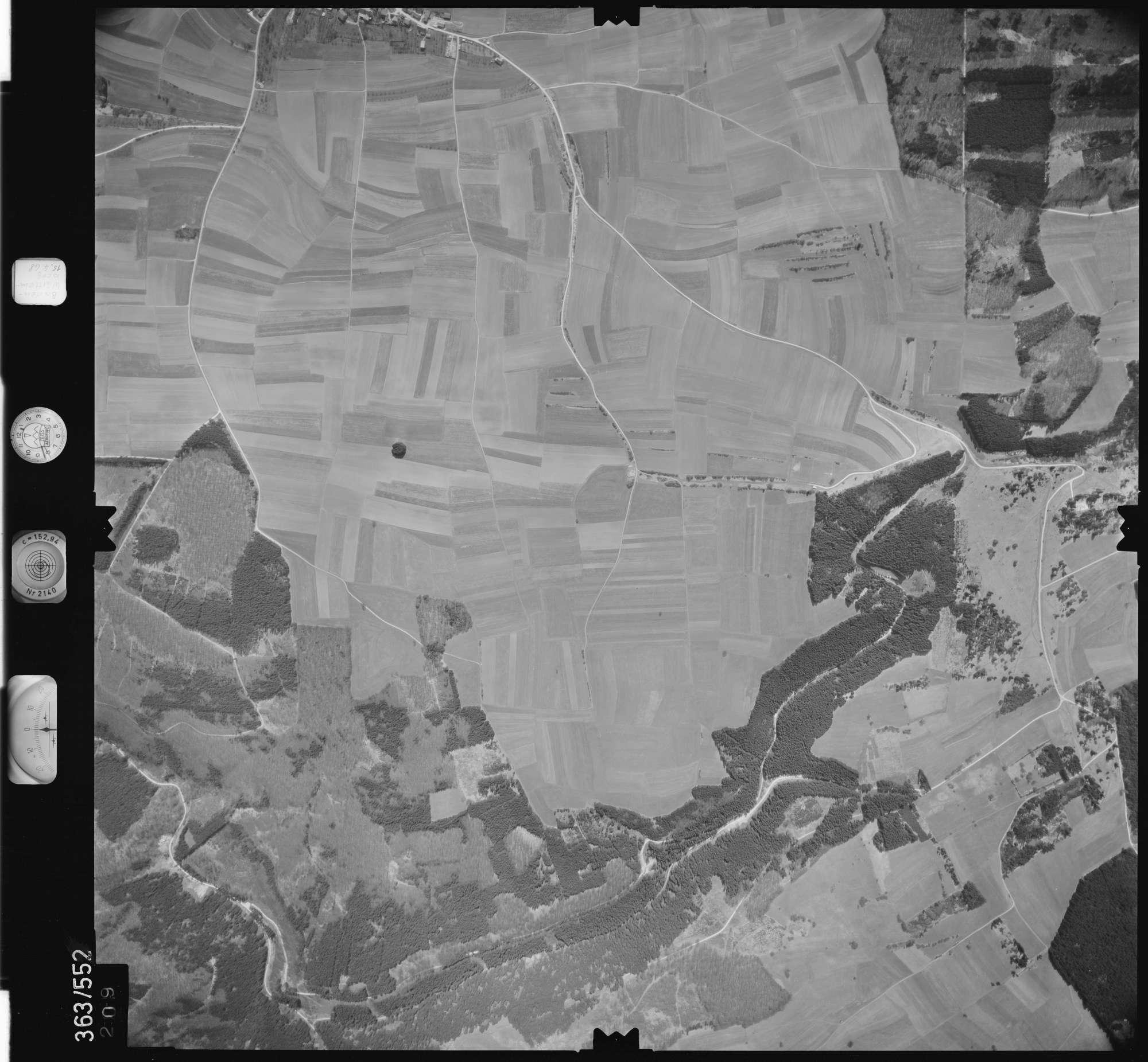 Luftbild: Film 45 Bildnr. 209, Bild 1