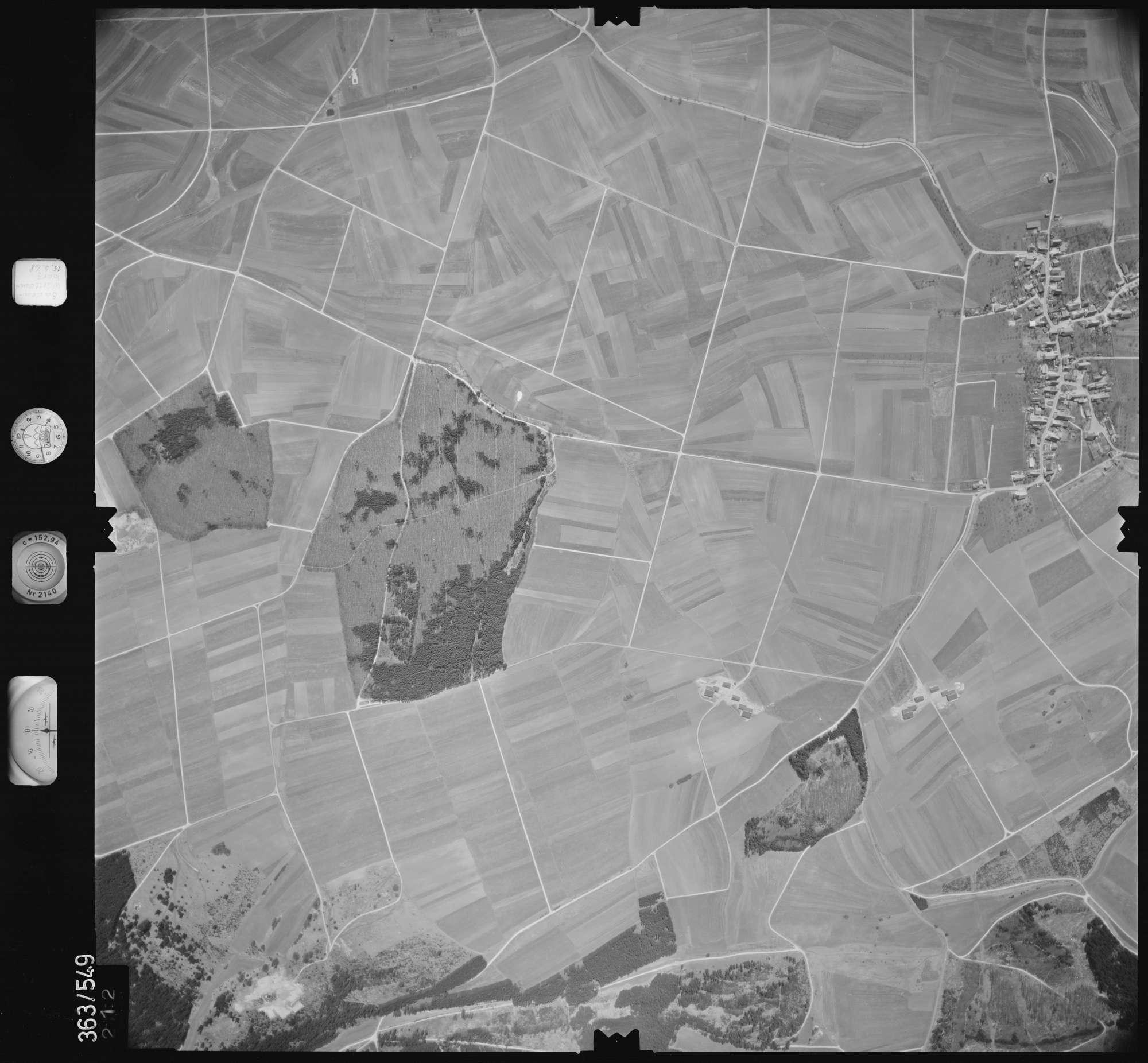 Luftbild: Film 45 Bildnr. 212, Bild 1
