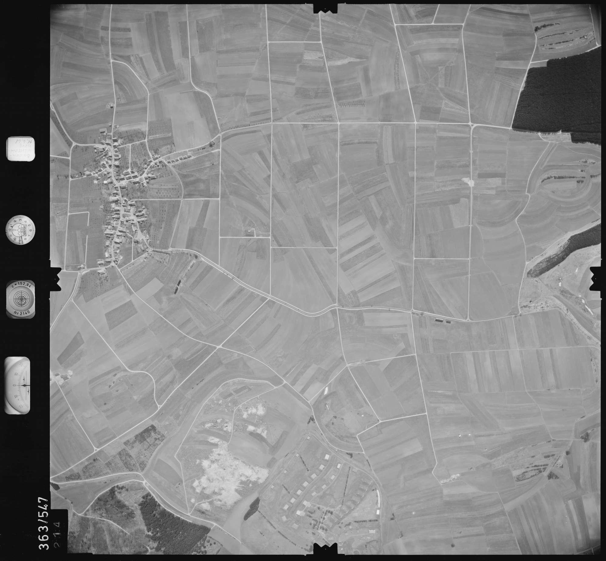 Luftbild: Film 45 Bildnr. 214, Bild 1