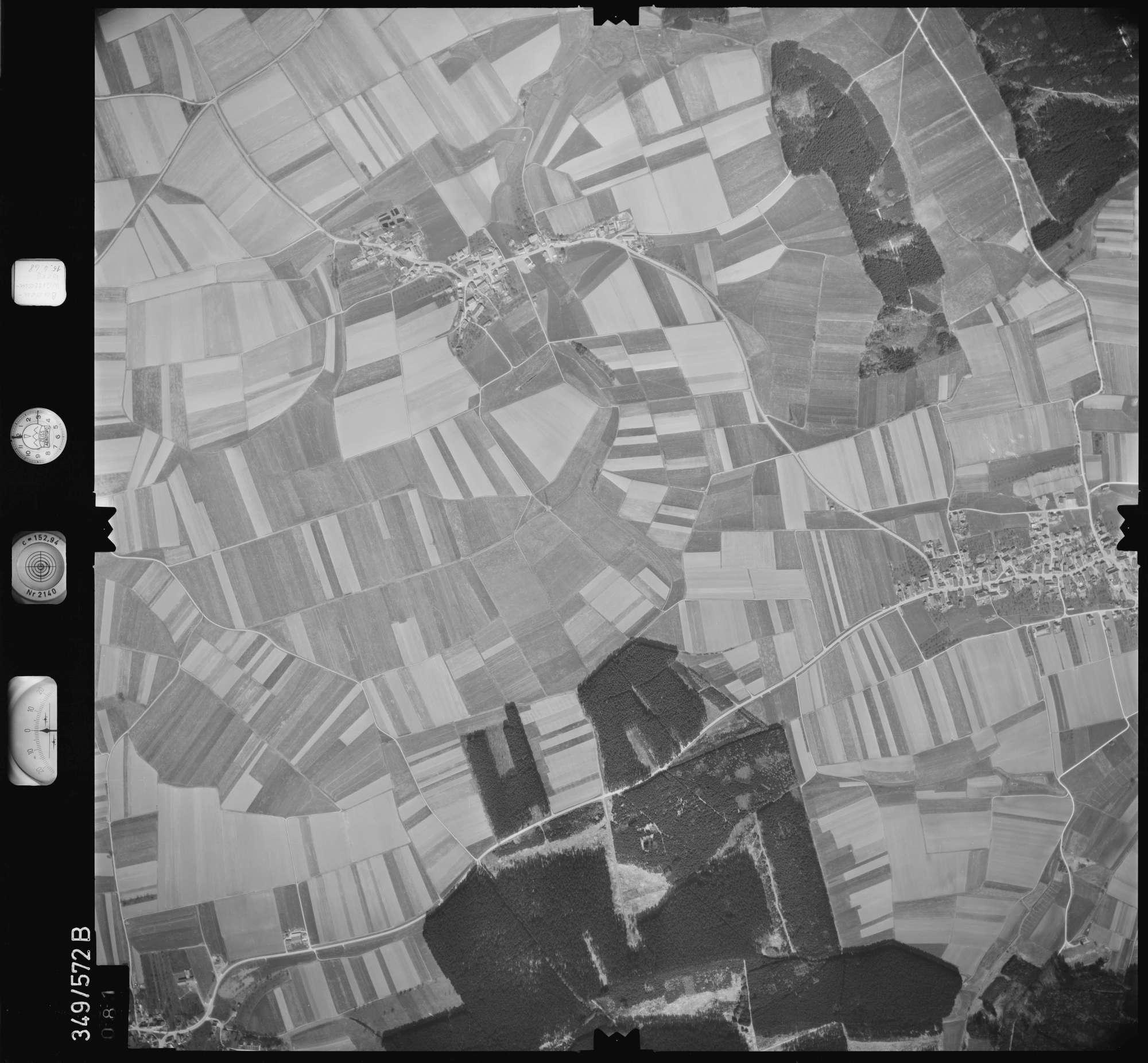 Luftbild: Film 45 Bildnr. 81, Bild 1