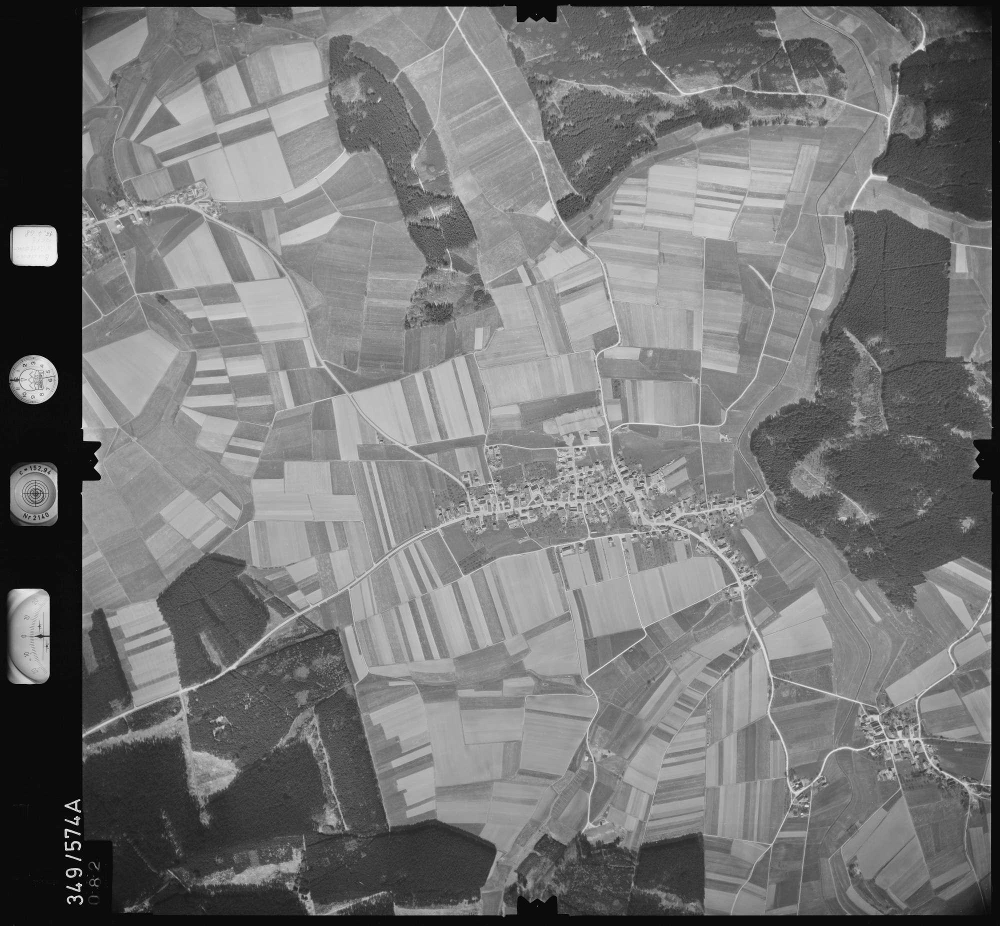Luftbild: Film 45 Bildnr. 82, Bild 1