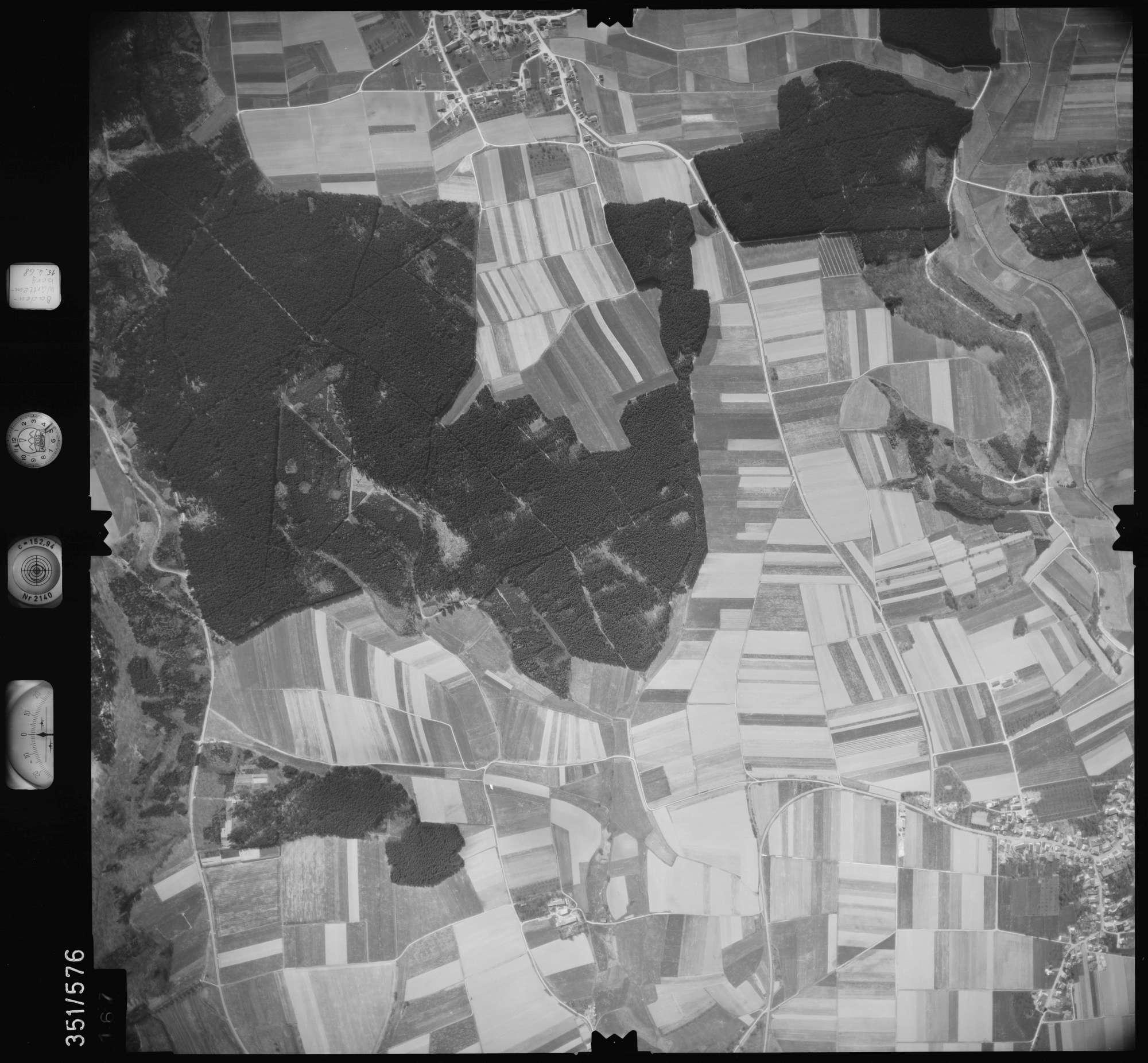 Luftbild: Film 105 Bildnr. 167, Bild 1