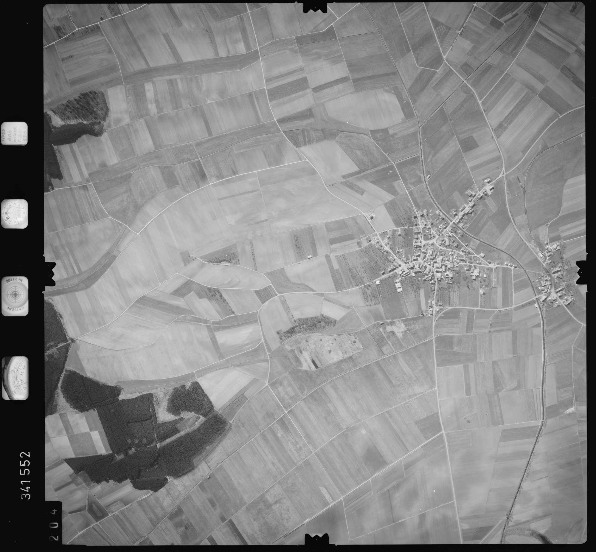 Luftbild: Film 50 Bildnr. 204, Bild 1