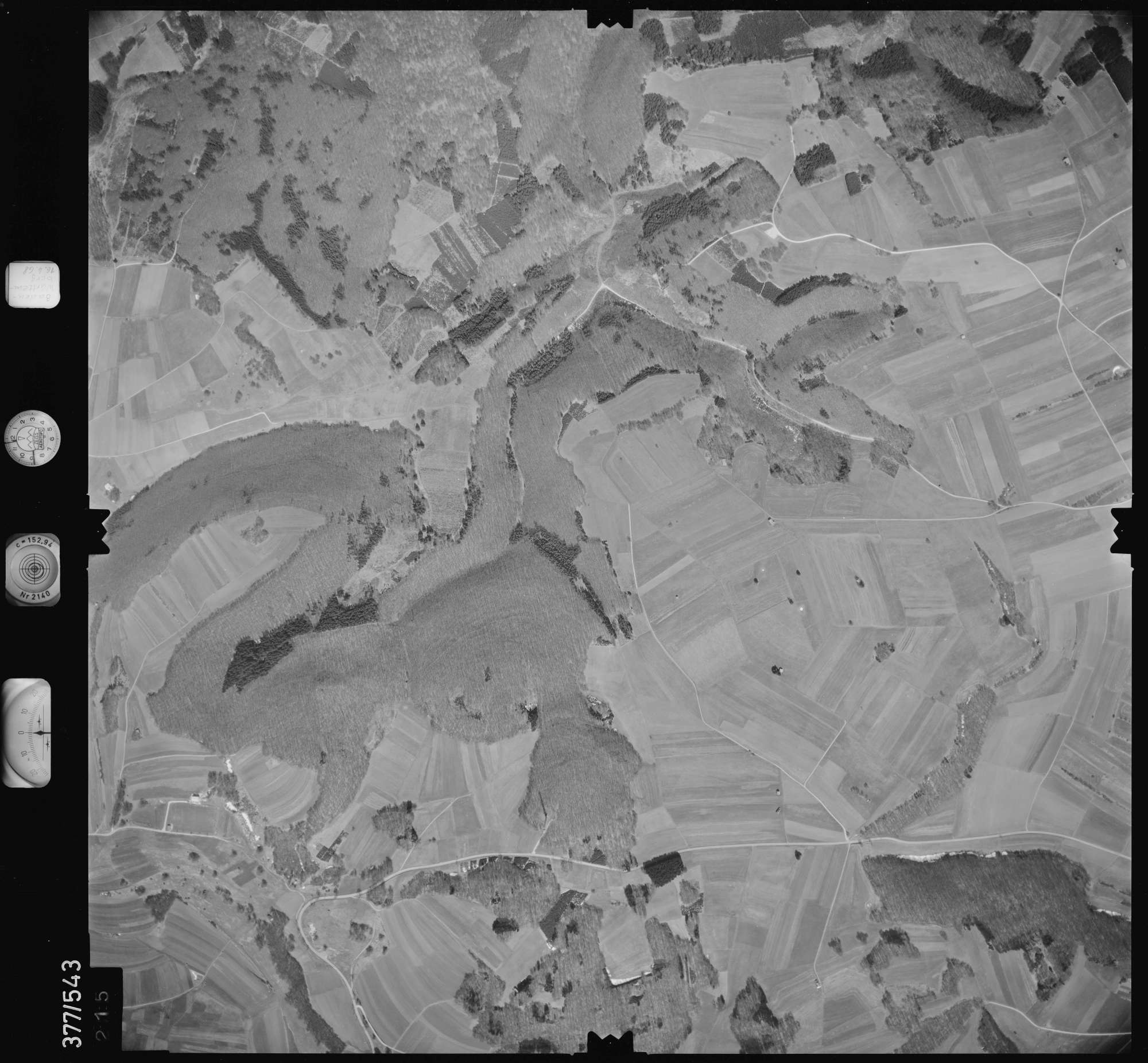Luftbild: Film 32 Bildnr. 215, Bild 1