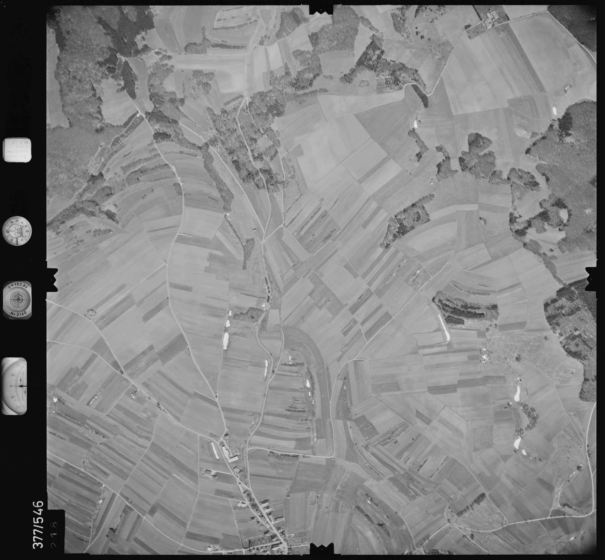 Luftbild: Film 32 Bildnr. 218, Bild 1