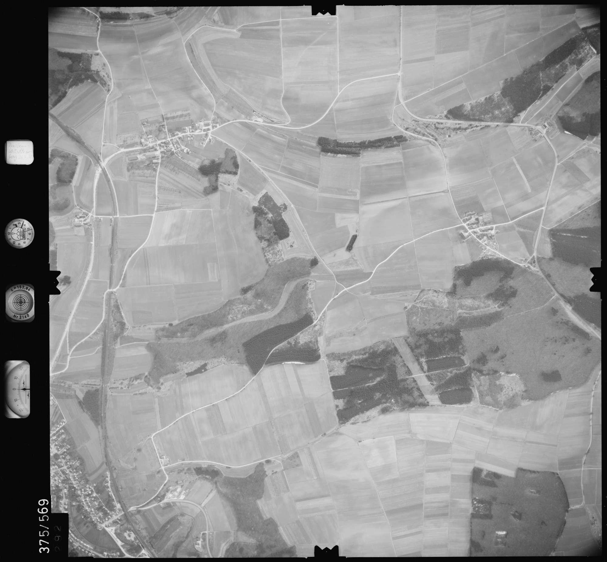 Luftbild: Film 35 Bildnr. 292, Bild 1