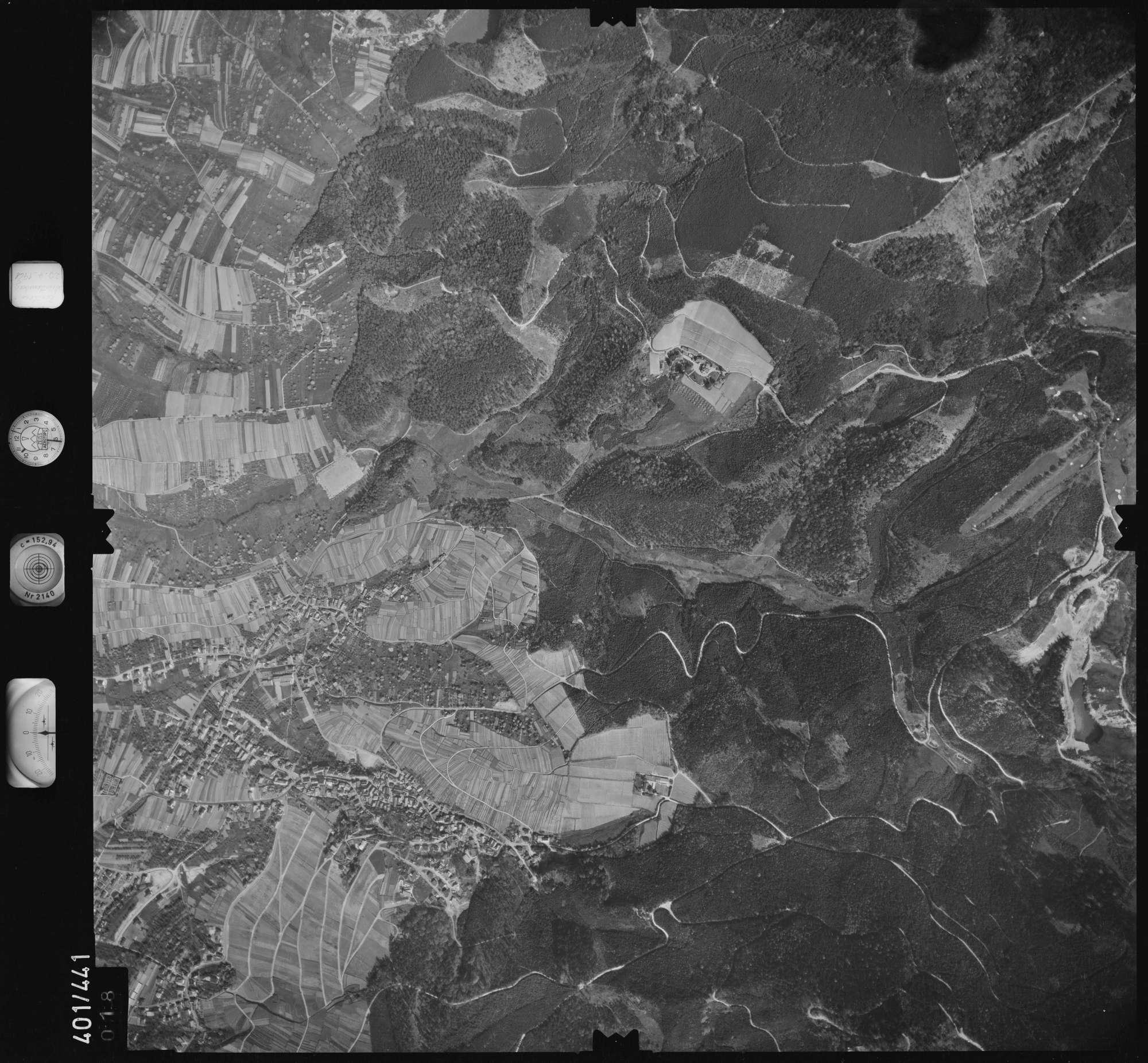 Luftbild: Film 11 Bildnr. 18, Bild 1
