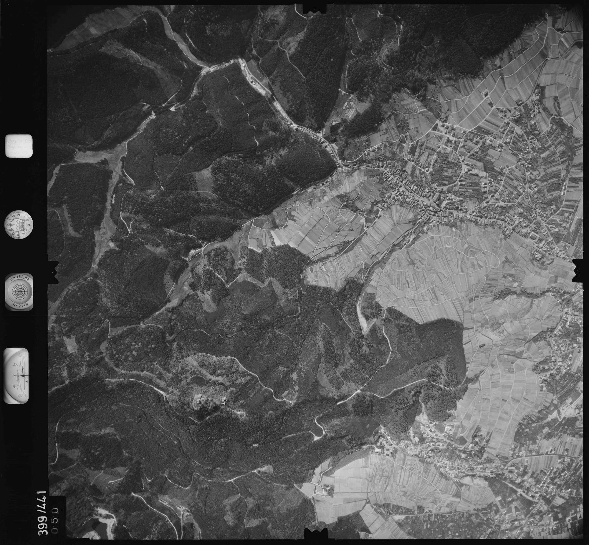 Luftbild: Film 11 Bildnr. 50, Bild 1
