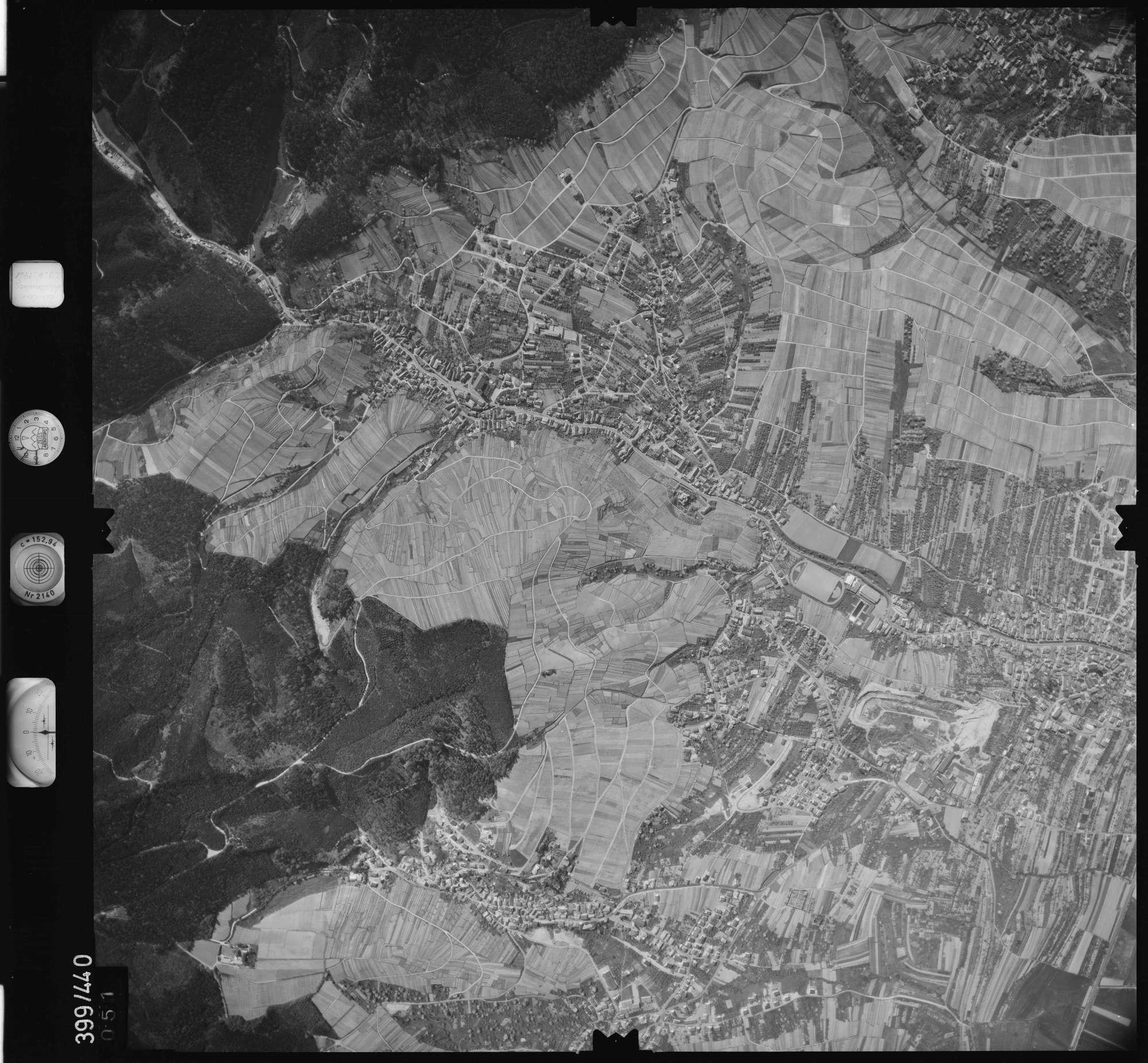 Luftbild: Film 11 Bildnr. 51, Bild 1