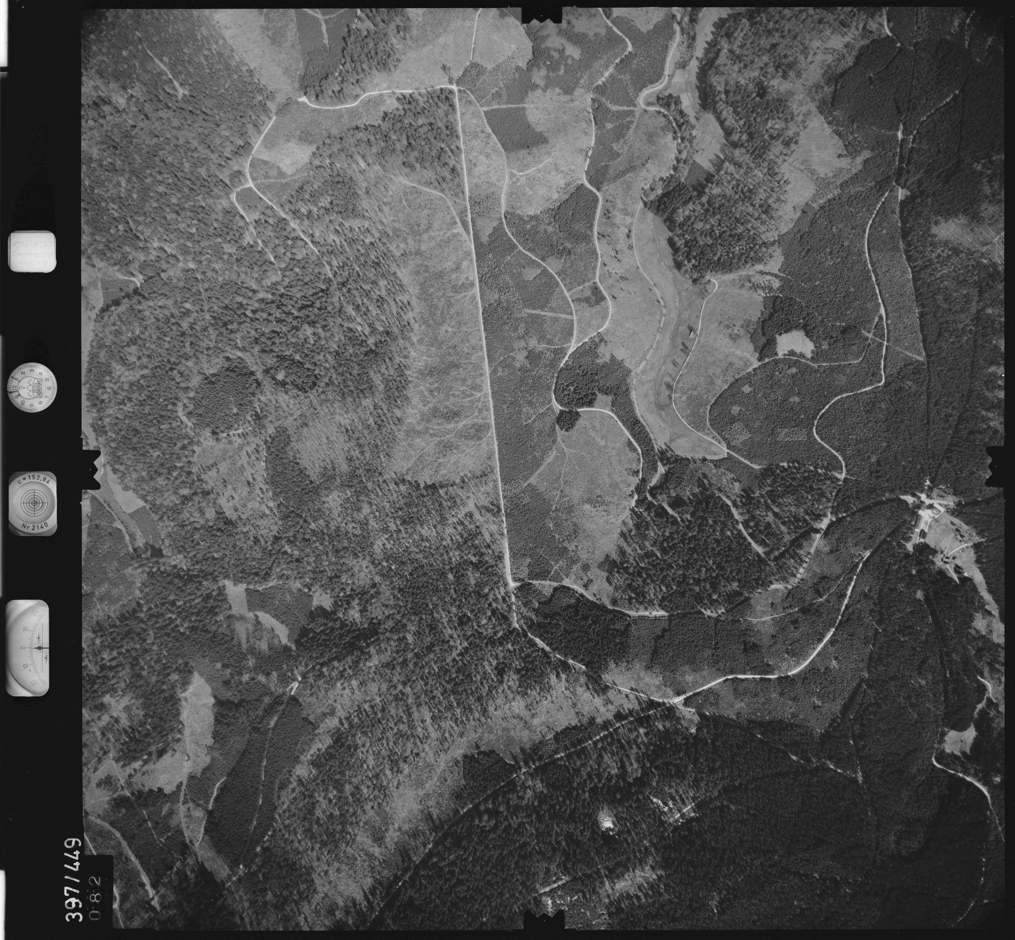 Luftbild: Film 11 Bildnr. 82, Bild 1