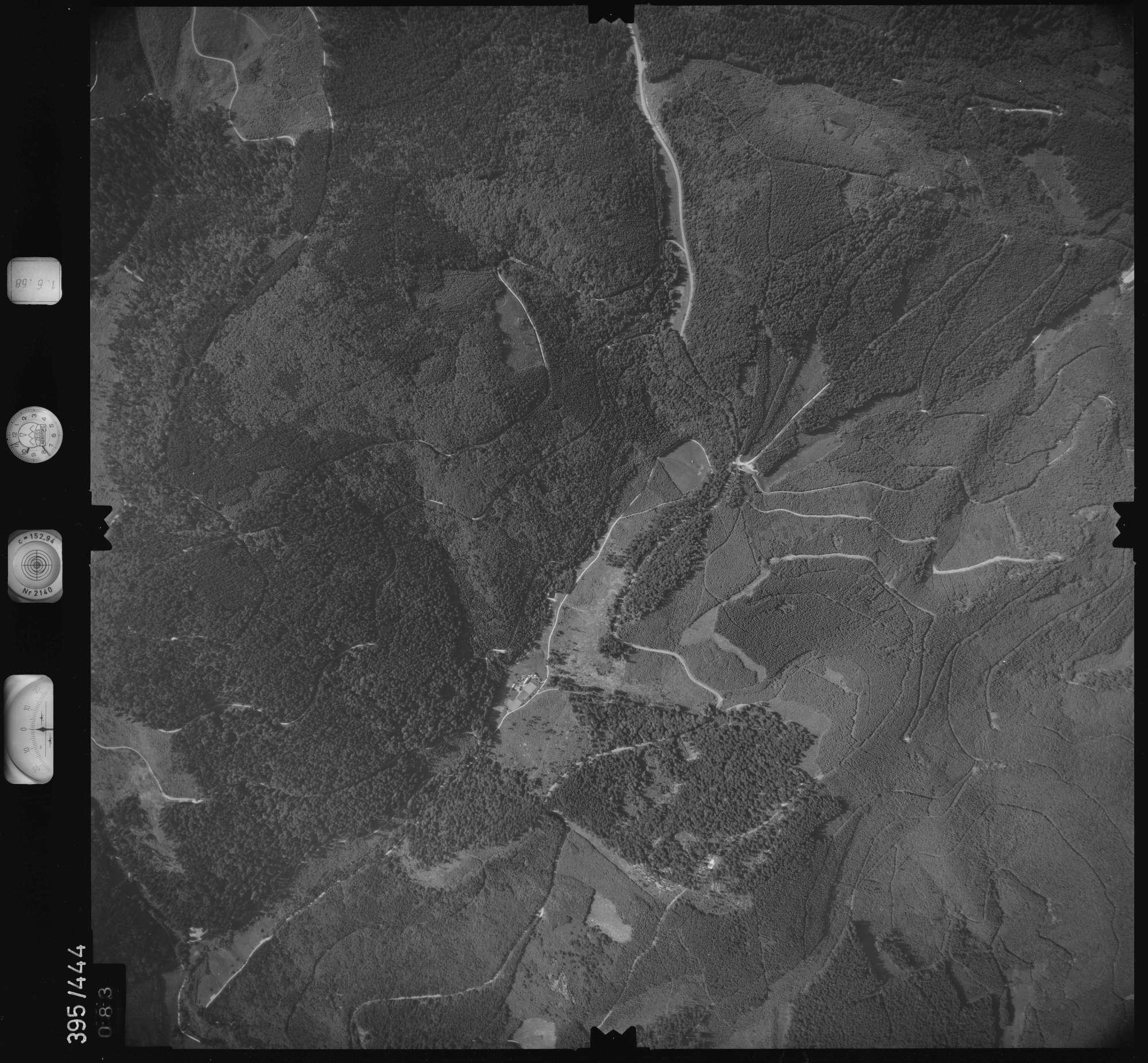 Luftbild: Film 16 Bildnr. 83, Bild 1