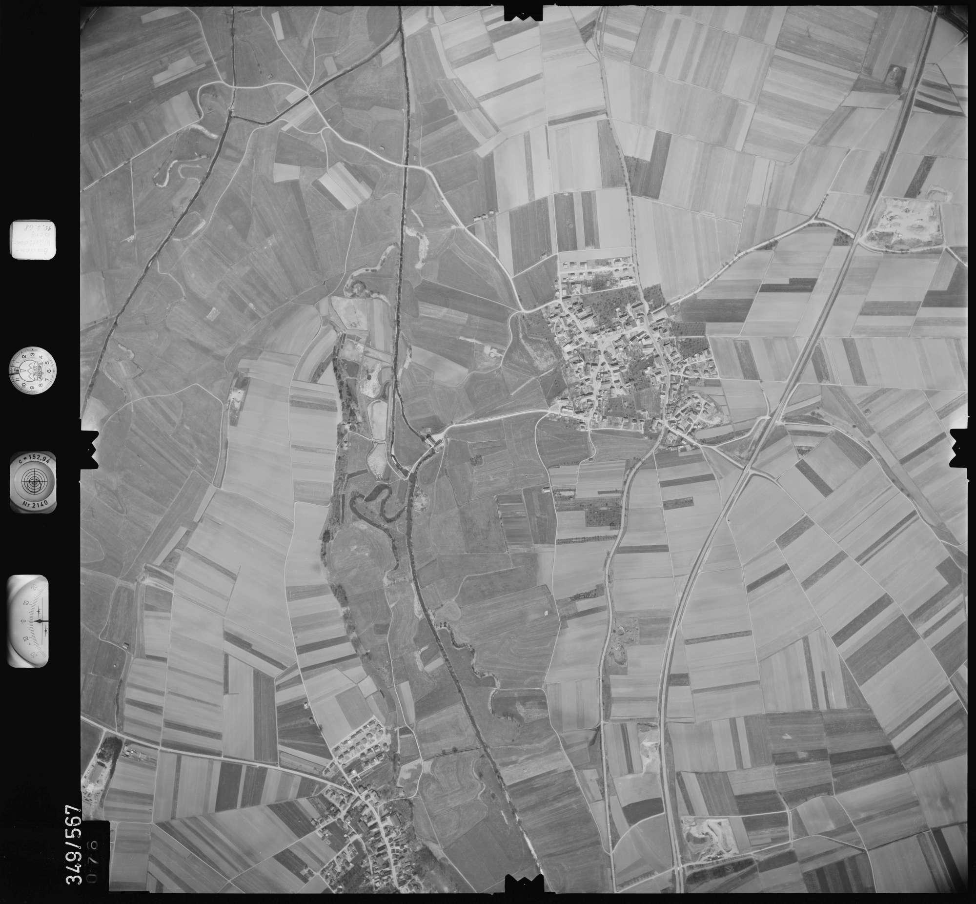 Luftbild: Film 45 Bildnr. 76, Bild 1