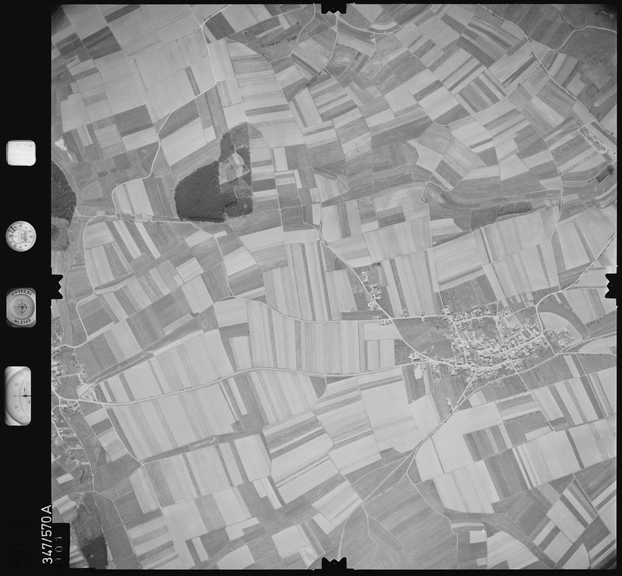 Luftbild: Film 45 Bildnr. 101, Bild 1