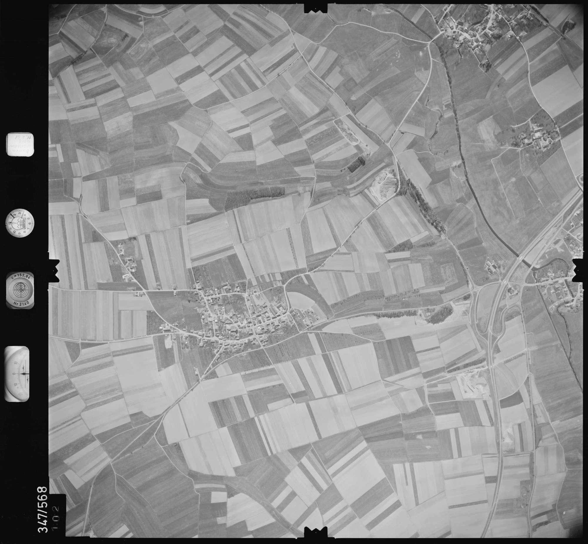 Luftbild: Film 45 Bildnr. 102, Bild 1