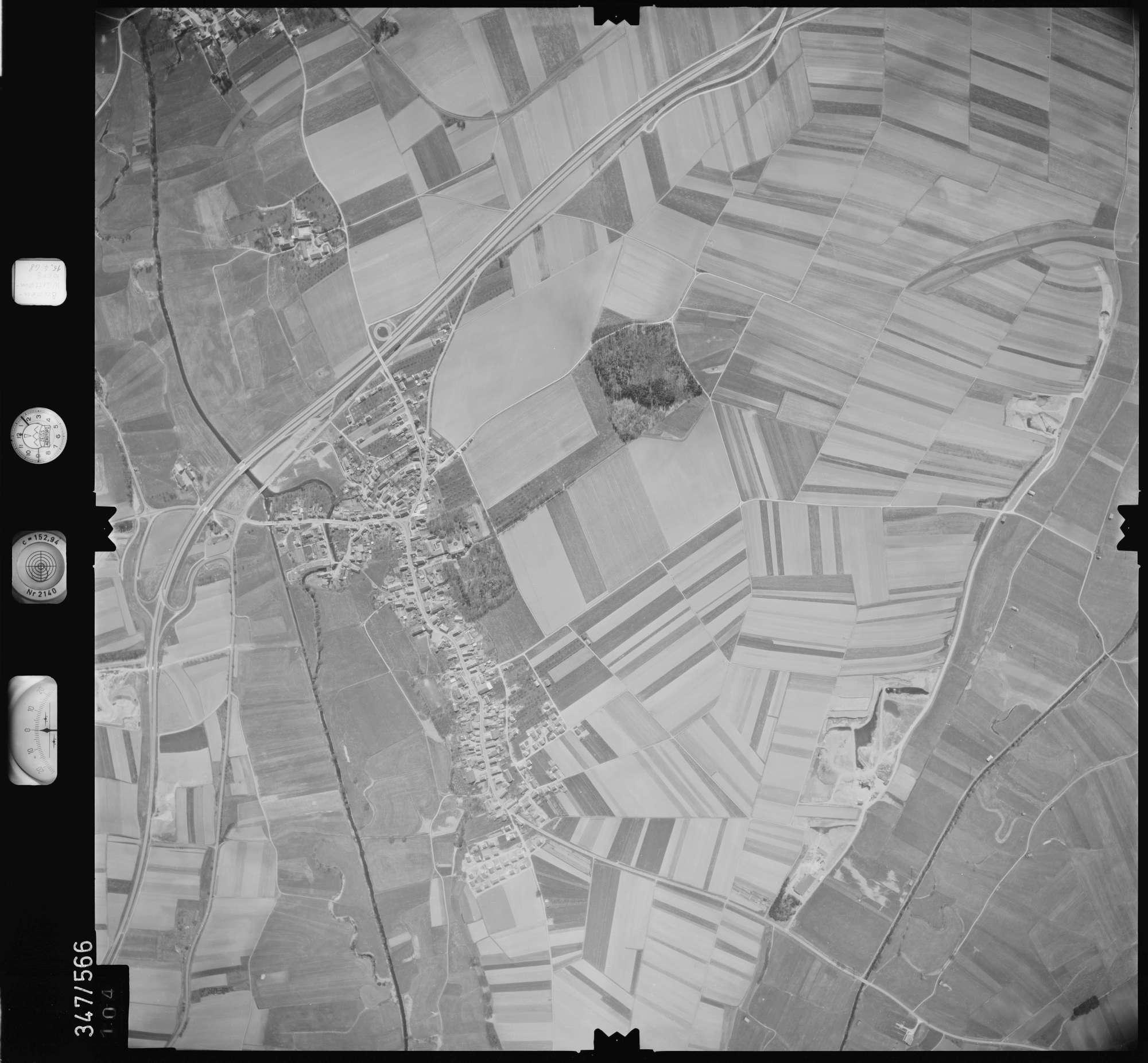 Luftbild: Film 45 Bildnr. 104, Bild 1