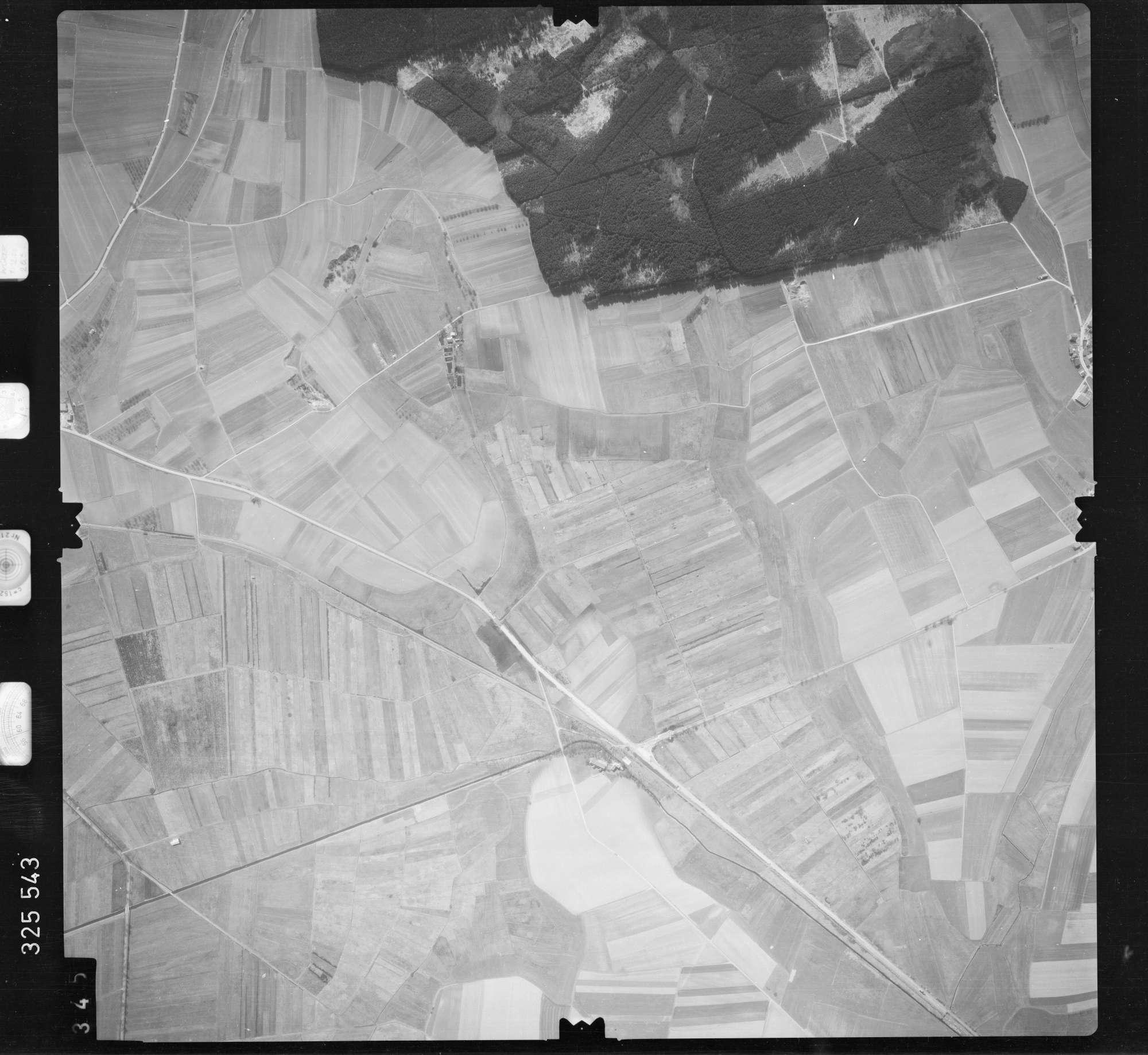 Luftbild: Film 52 Bildnr. 345, Bild 1