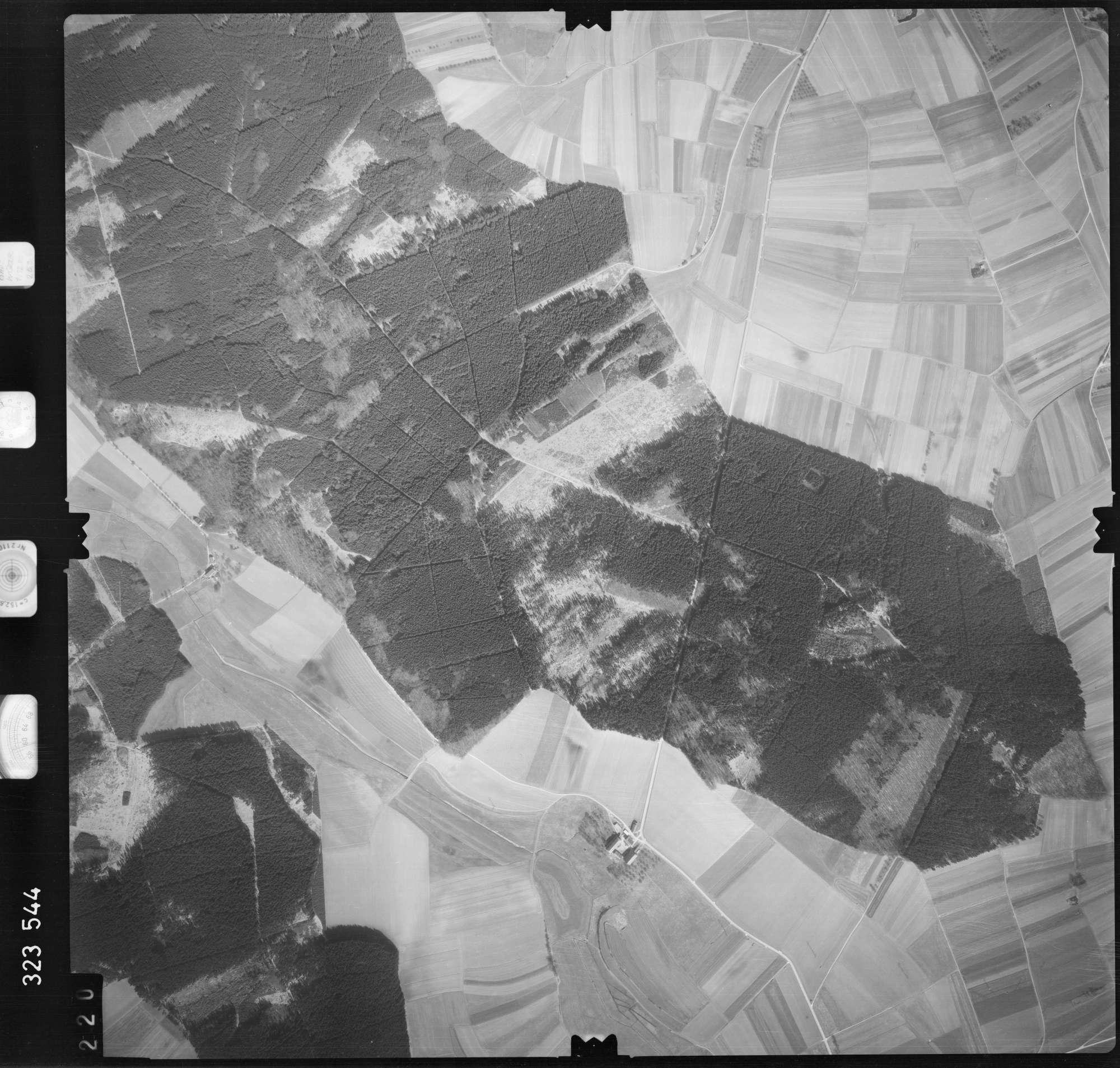 Luftbild: Film 53 Bildnr. 220, Bild 1