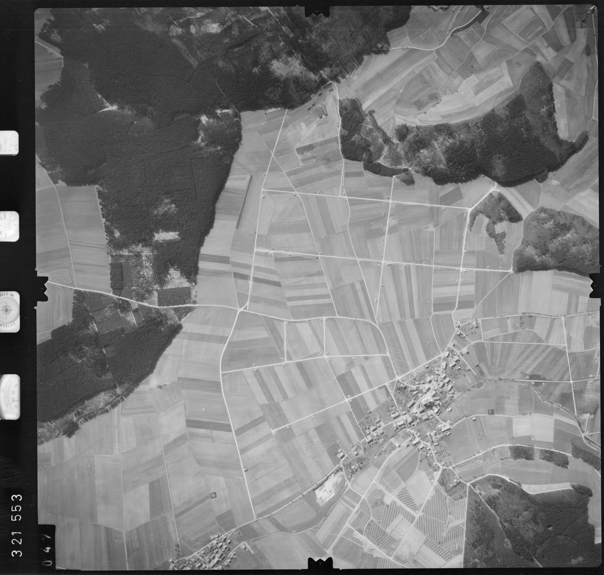 Luftbild: Film 53 Bildnr. 47, Bild 1