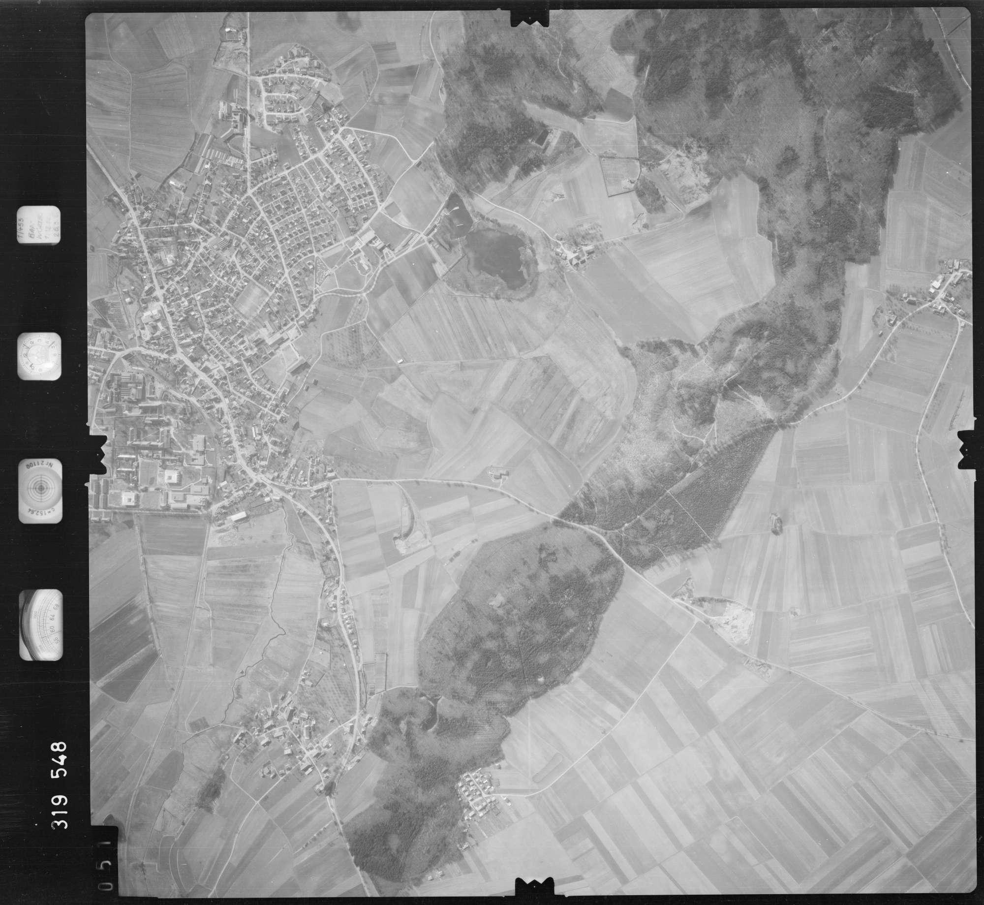 Luftbild: Film 57 Bildnr. 51, Bild 1