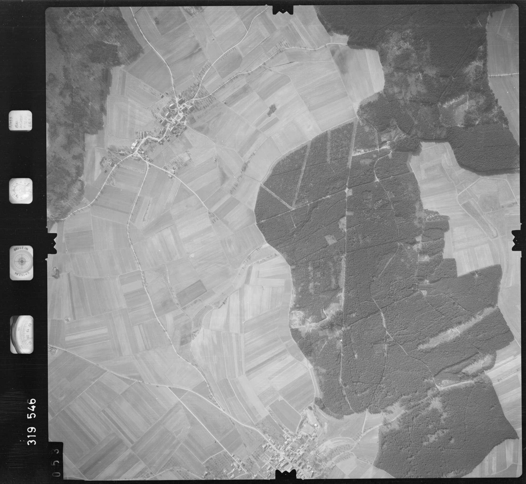 Luftbild: Film 57 Bildnr. 53, Bild 1