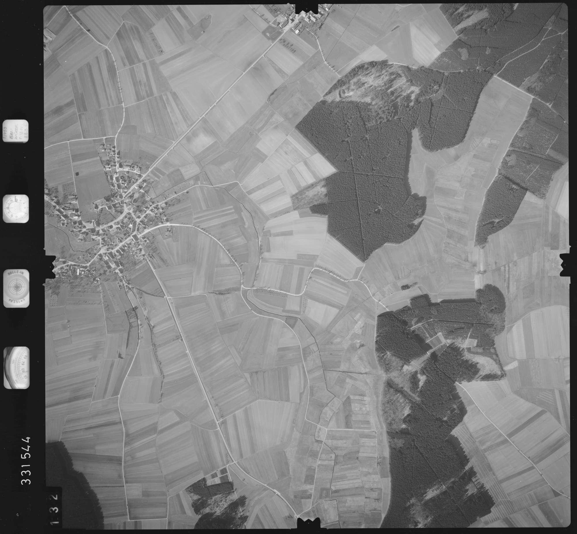 Luftbild: Film 51 Bildnr. 132, Bild 1