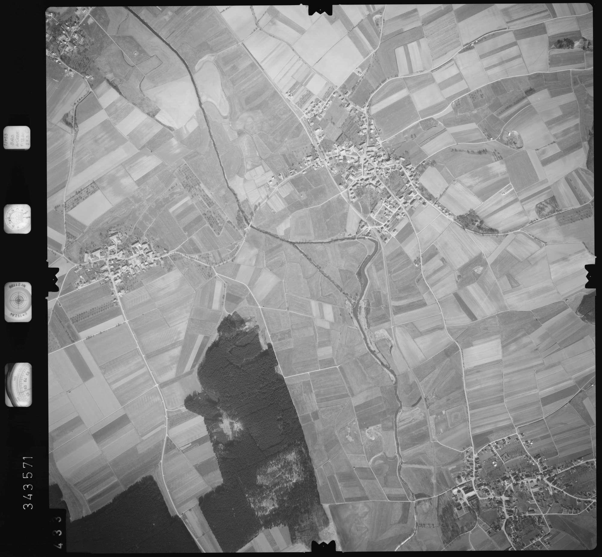 Luftbild: Film 46 Bildnr. 433, Bild 1