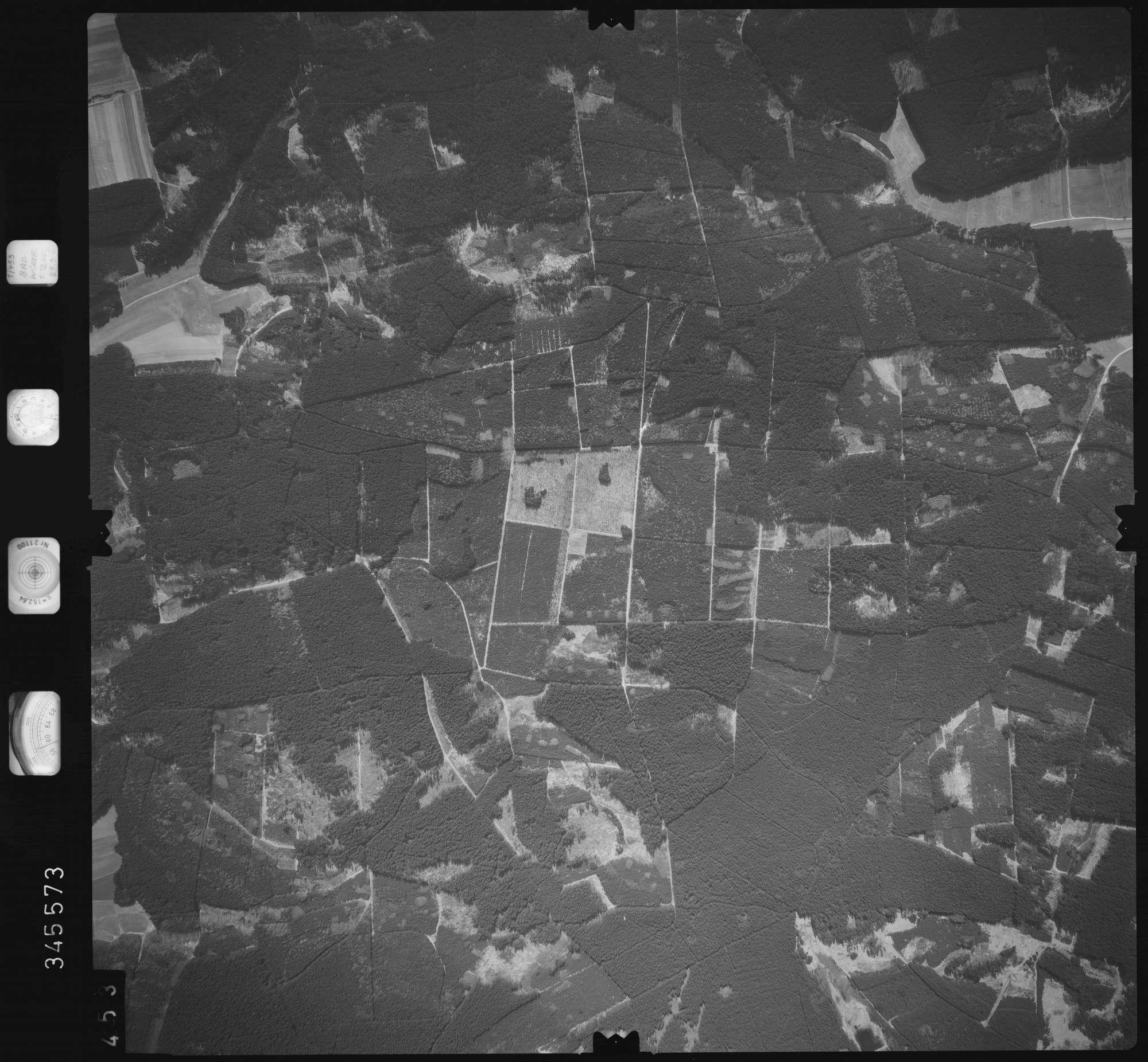 Luftbild: Film 46 Bildnr. 453, Bild 1