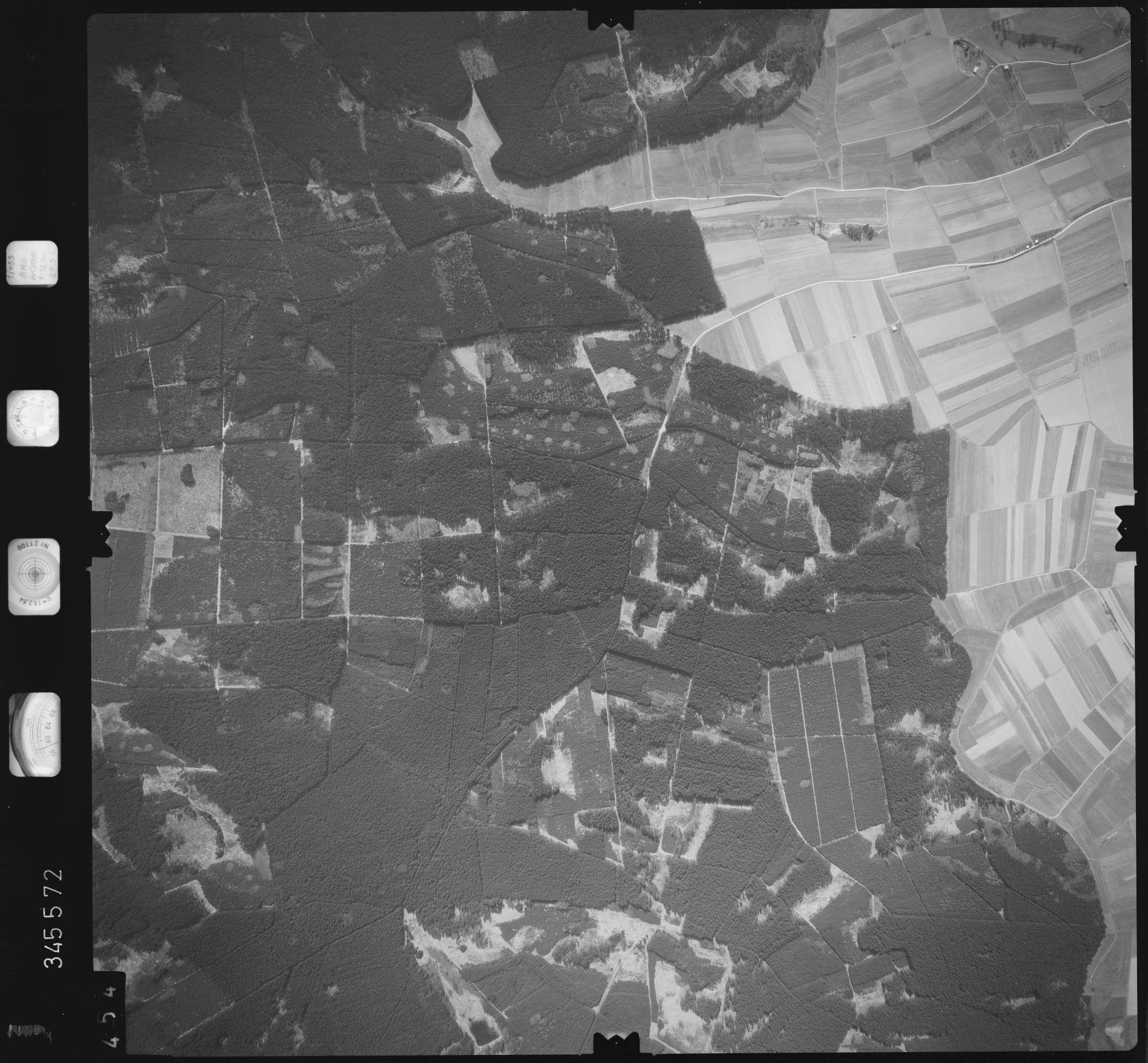 Luftbild: Film 46 Bildnr. 454, Bild 1