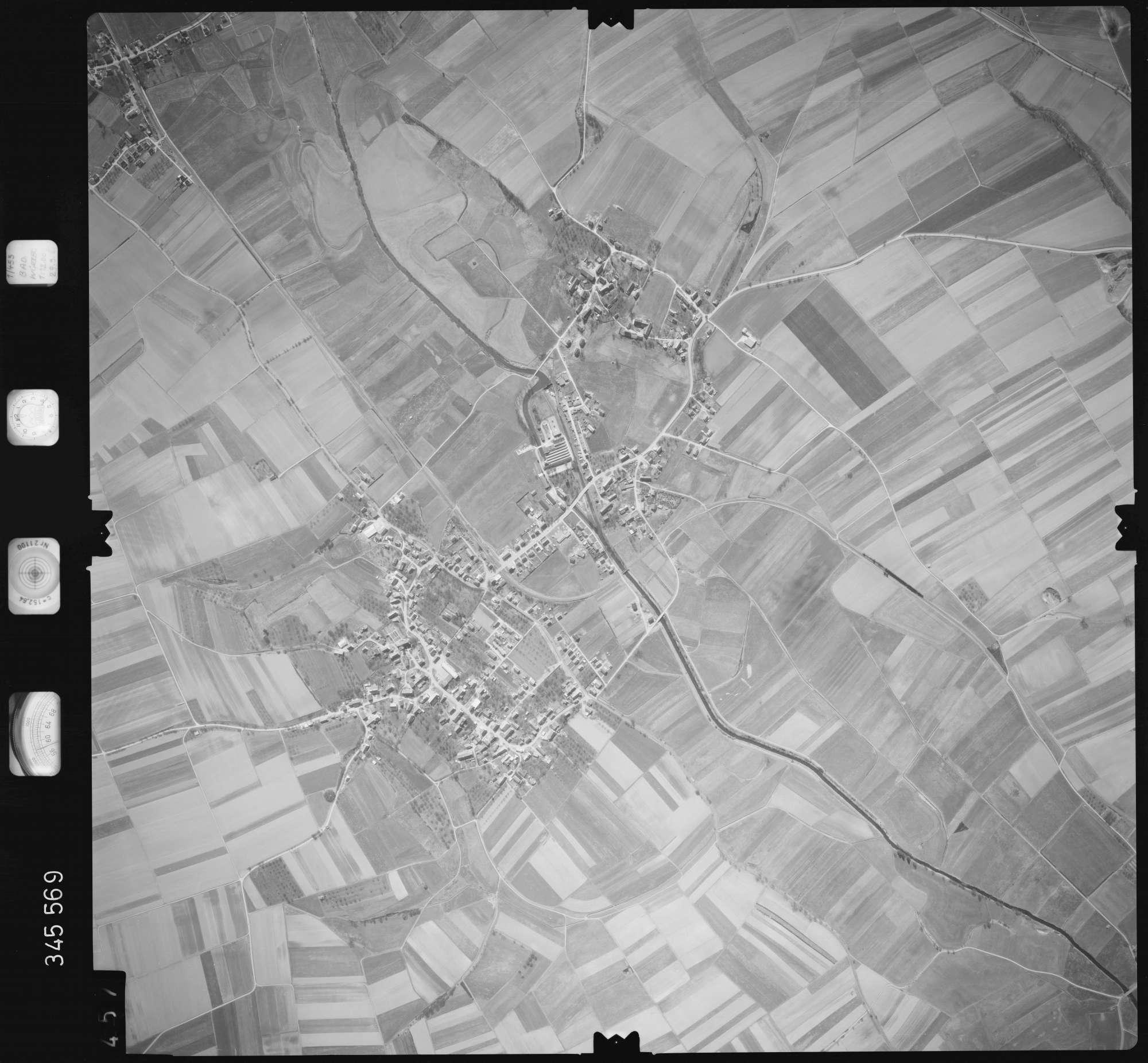 Luftbild: Film 46 Bildnr. 457, Bild 1
