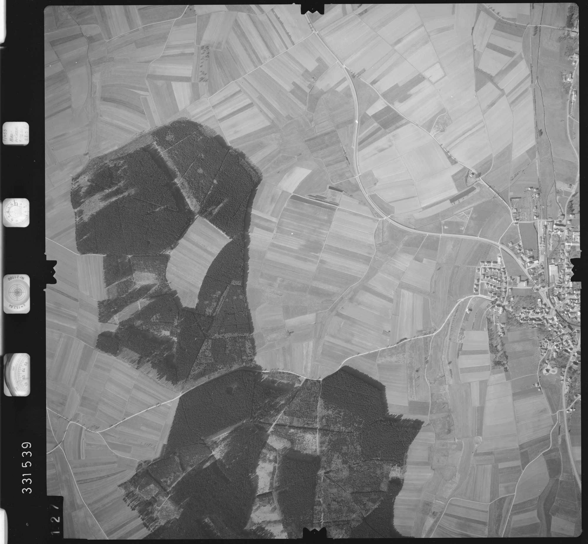 Luftbild: Film 51 Bildnr. 127, Bild 1